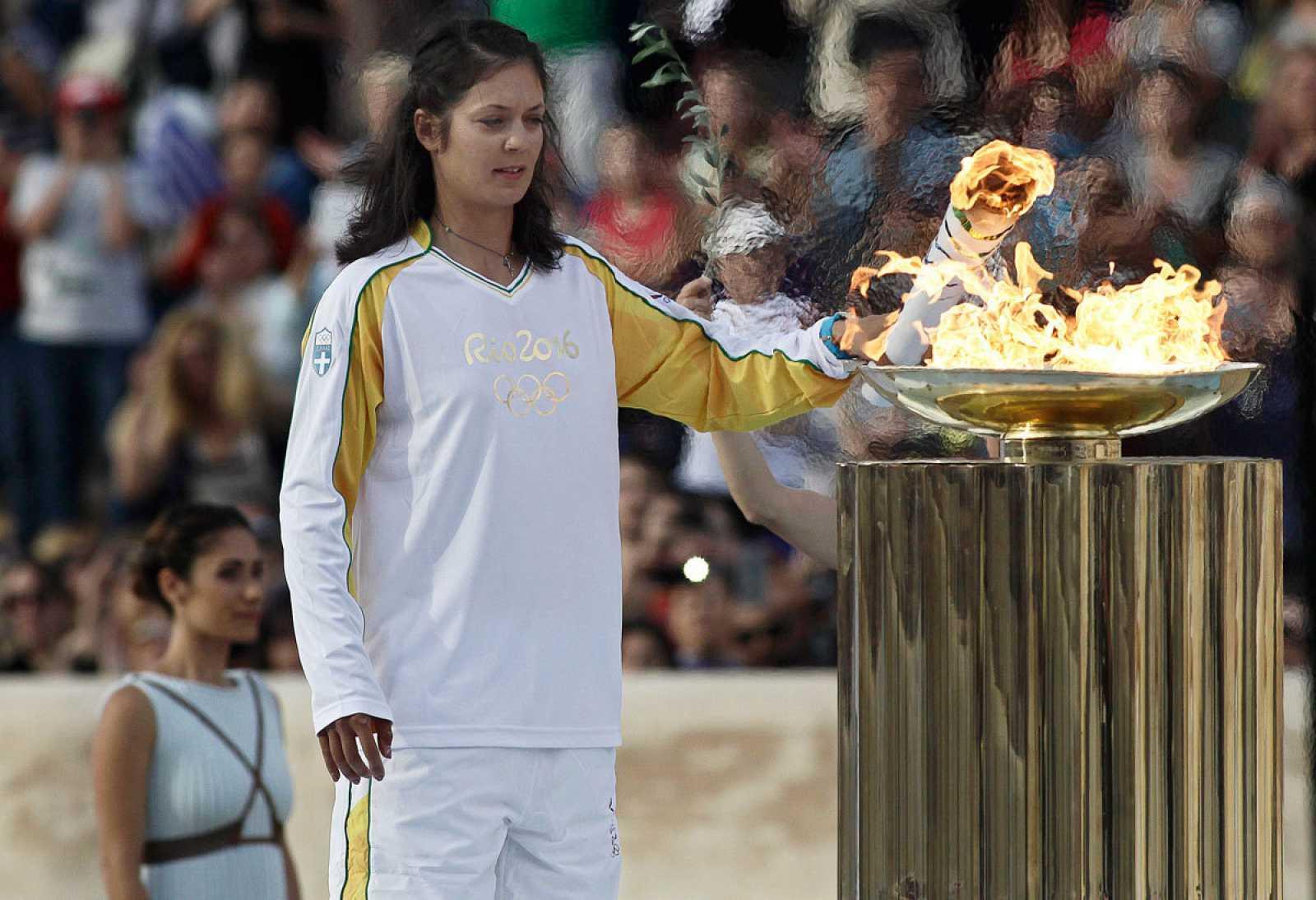 Tras el encendido tradicional en Grecia, la llama pisará suelo nipón en marzo