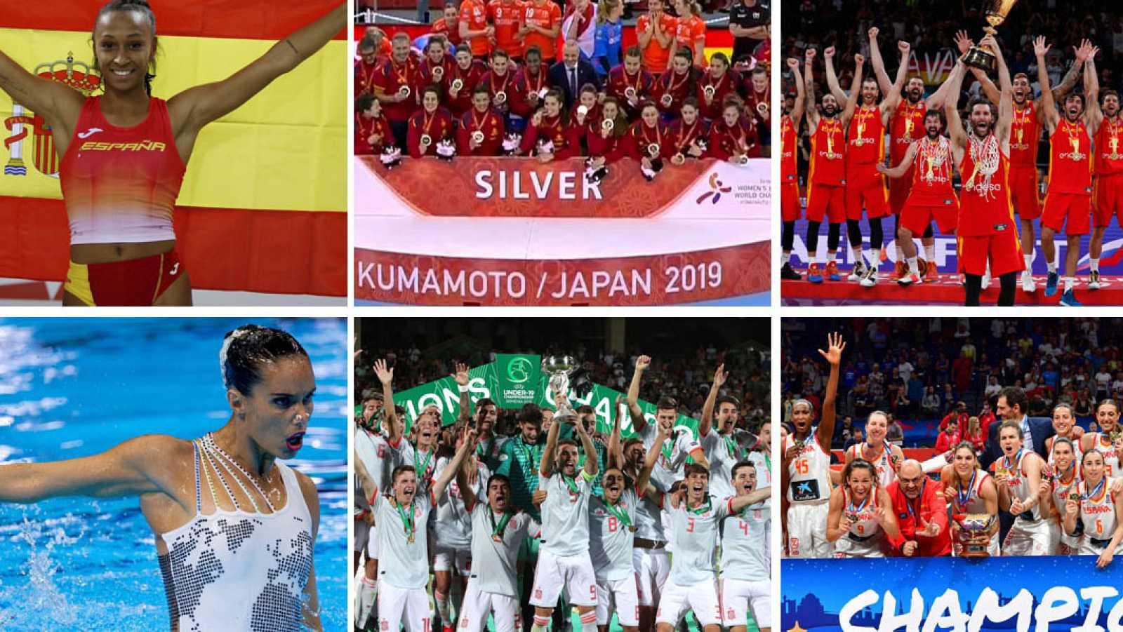 Éxitos españoles en 2019