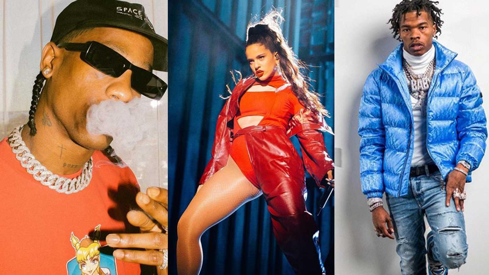 Rosalía y Lil Baby colaboran con Travis Scott en un remix del tema 'Highest In The Room'