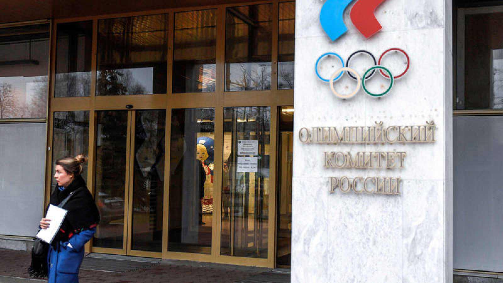 Imagen del Comité Olímpico Ruso