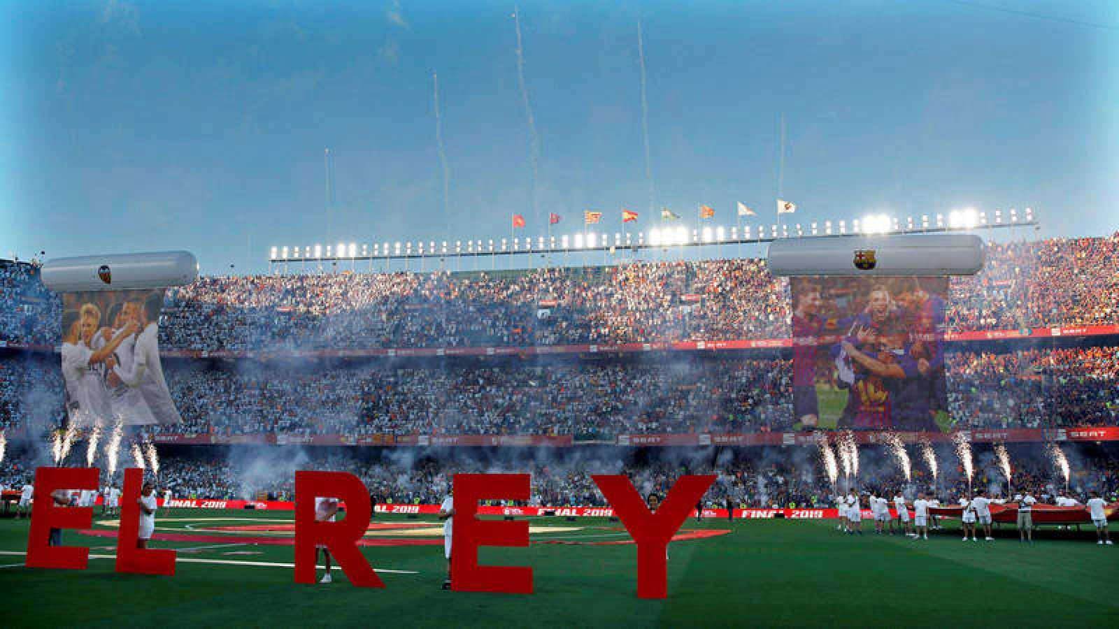 Final de la Copa del Rey: Barcelona - Valencia
