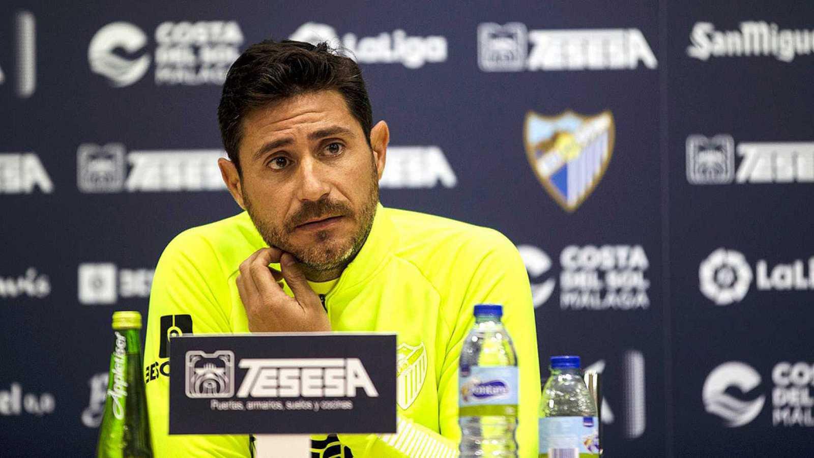 El exentrenador del Málaga CF Víctor Sánchez del Amo