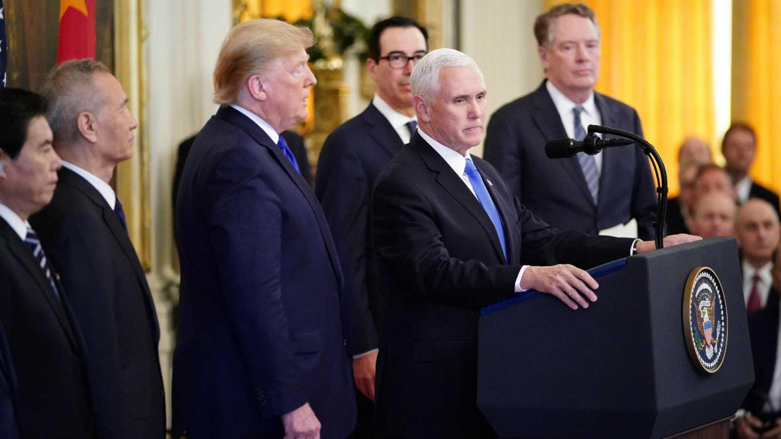 Estados Unidos y China firman el acuerdo comercial