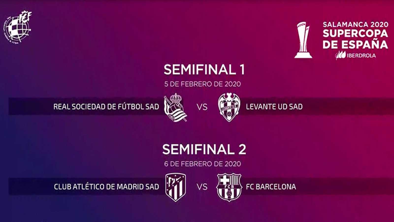 Emparejamientos de semifinales