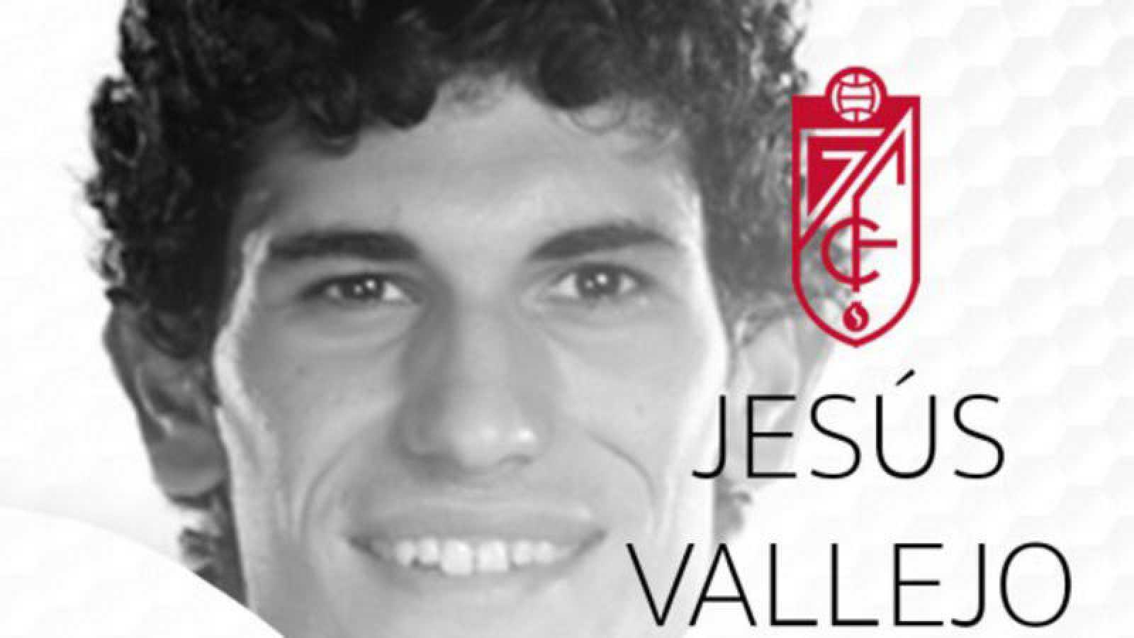 El Granada CF da la bienvenida a su nuevo jugador Jesús Vallejo.