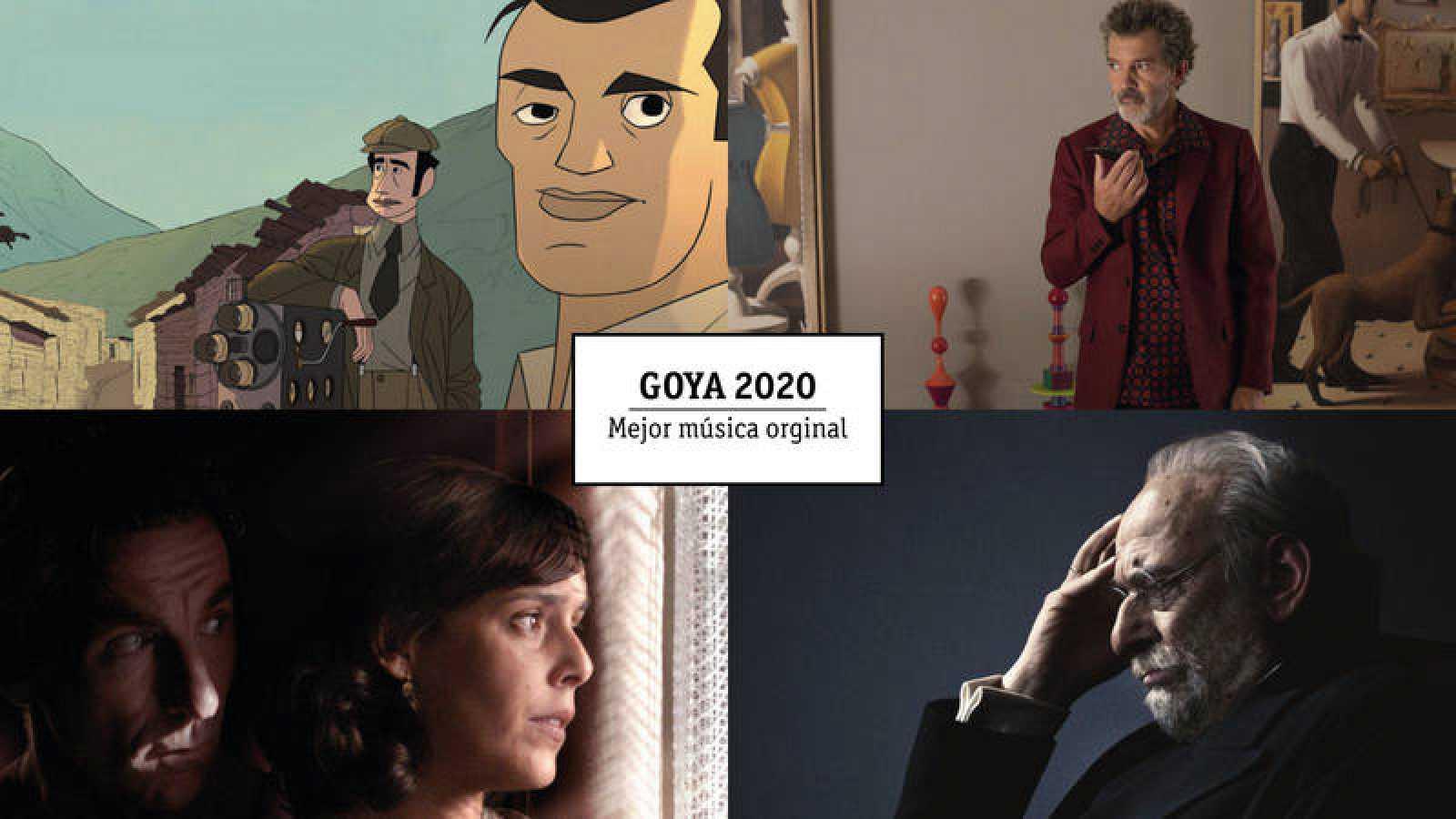 Goya 2020: Nominados a 'Mejor música original'