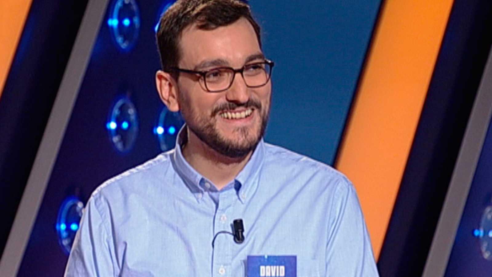 David Díaz ya ha superado los 70 programas en Saber y Ganar