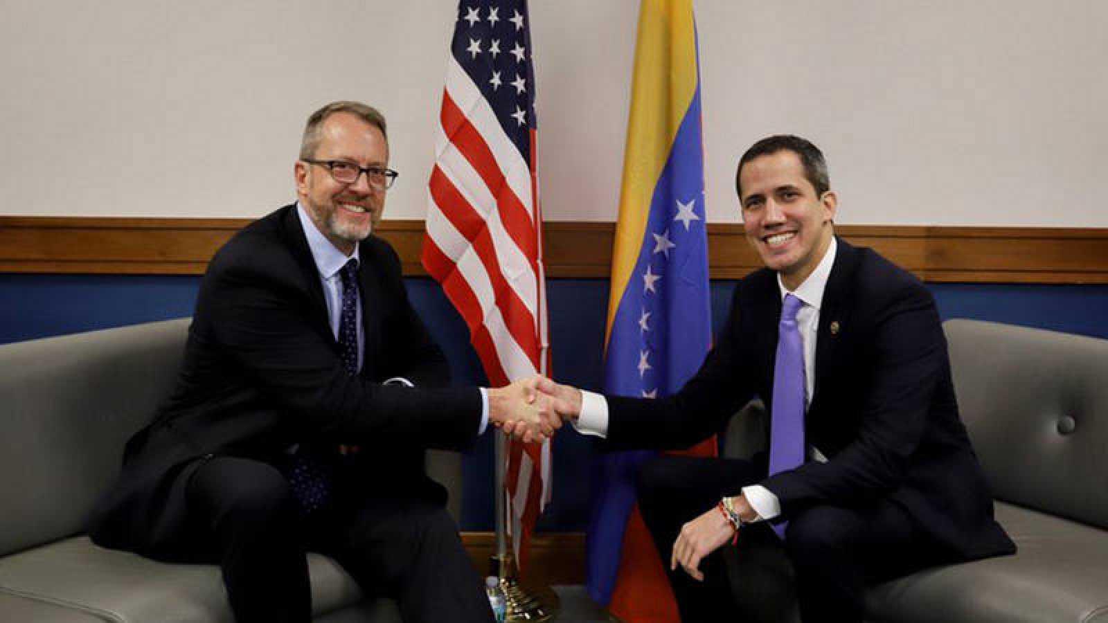 Juan Guaidó se ha reunido en Miami con el encargado de negocios de Estados Unidos para Venezuela, James Story