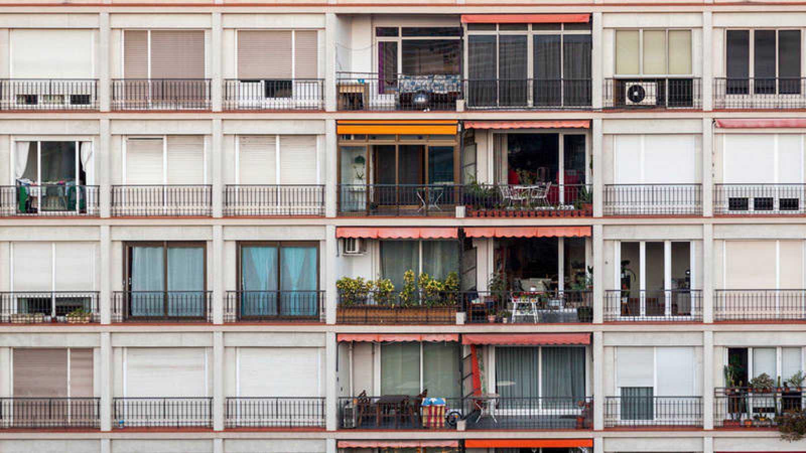Edificio de viviendas en Barcelona