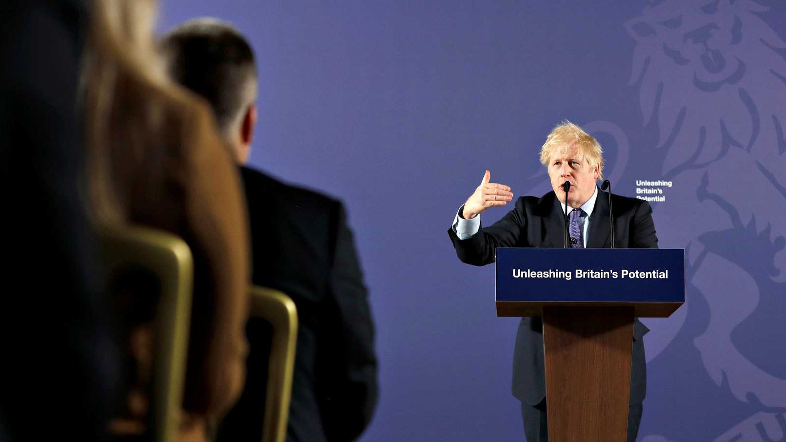 El primer ministro británico, Boris Johnson, presenta las líneas para la negociación de la relación futura con la Unión Europea