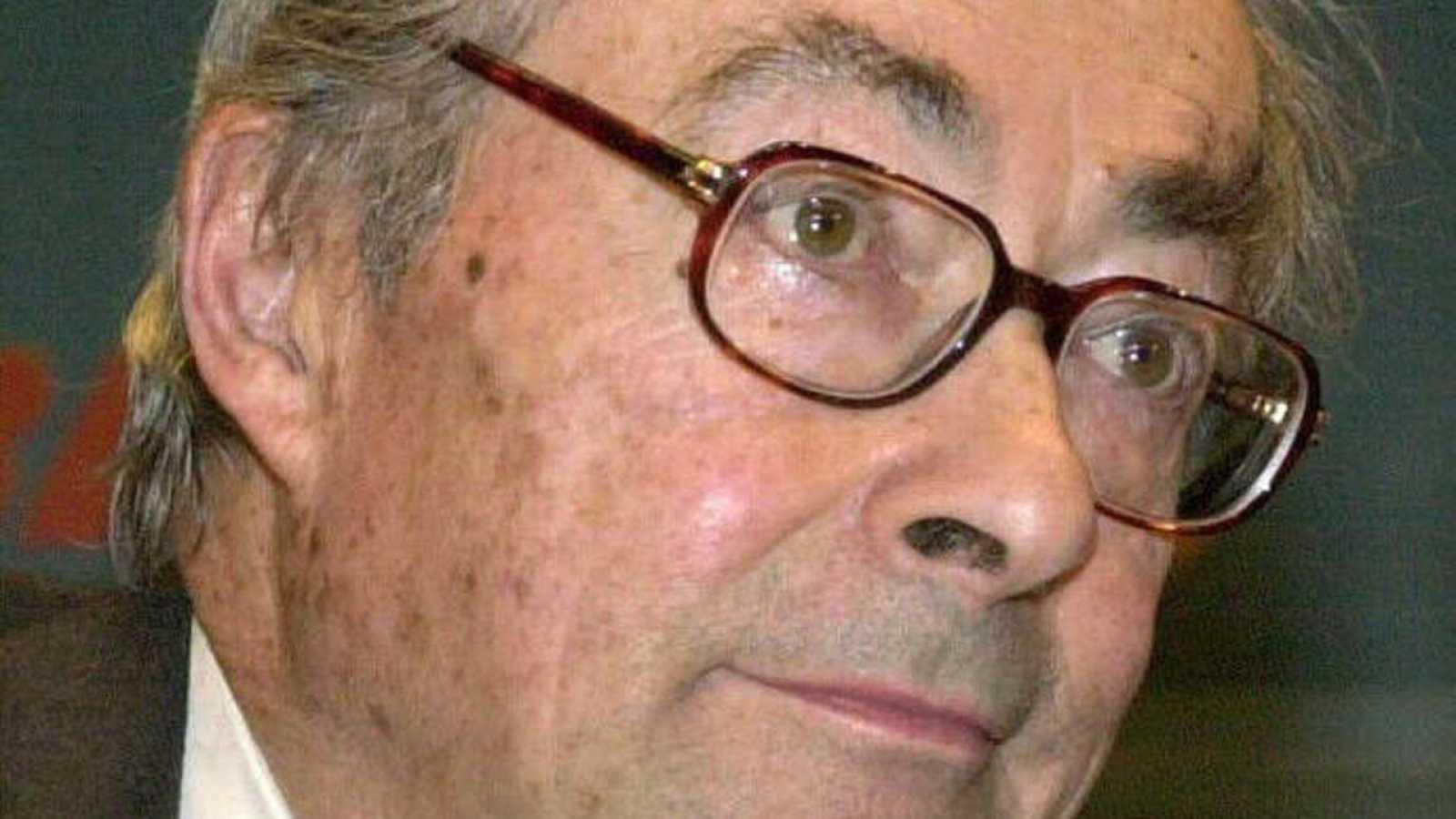 El crítico literario George Steiner, en una fotografía de archivo