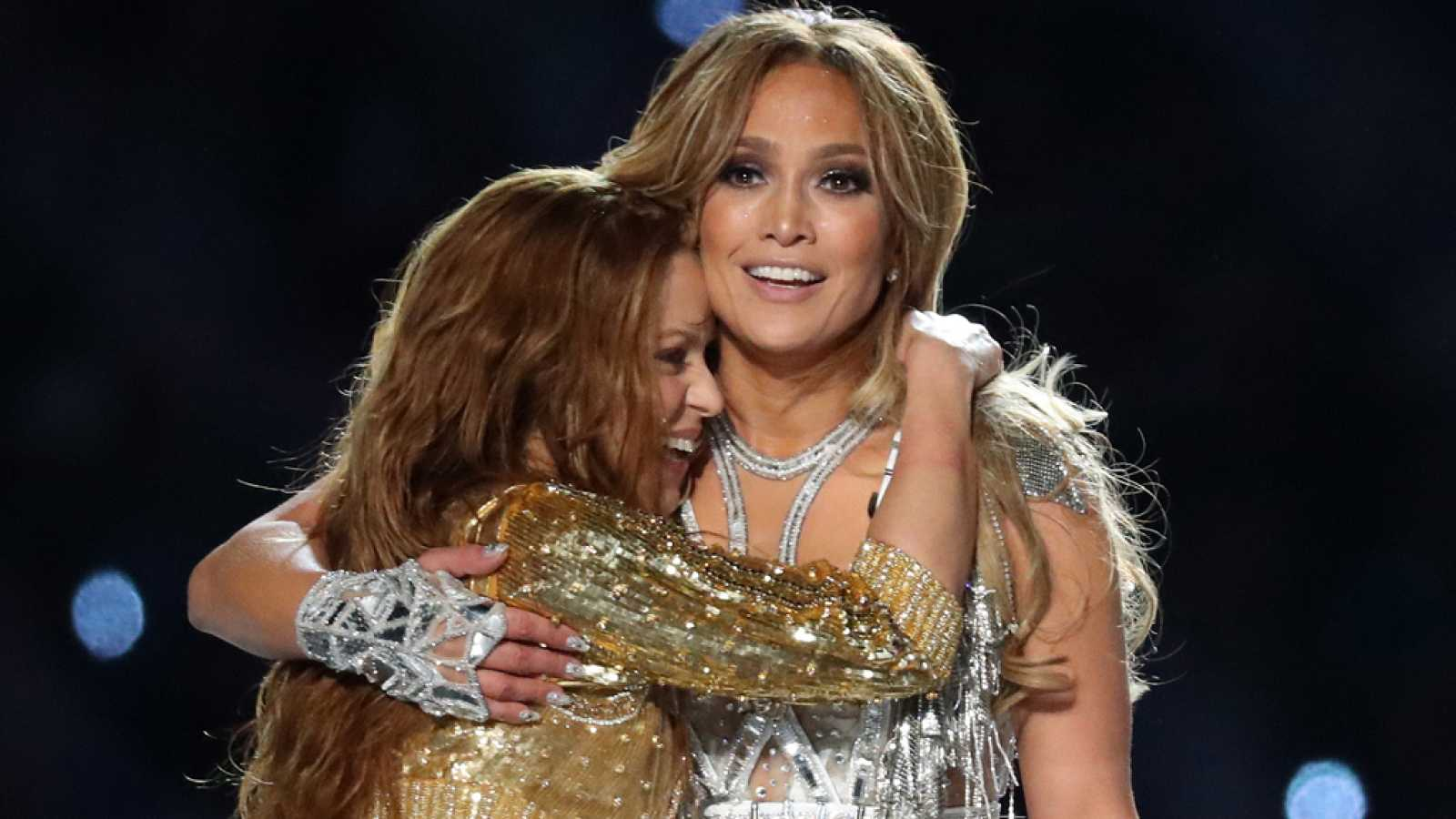 Jennifer López publica imágenes inéditas de su actuación en la Super Bowl
