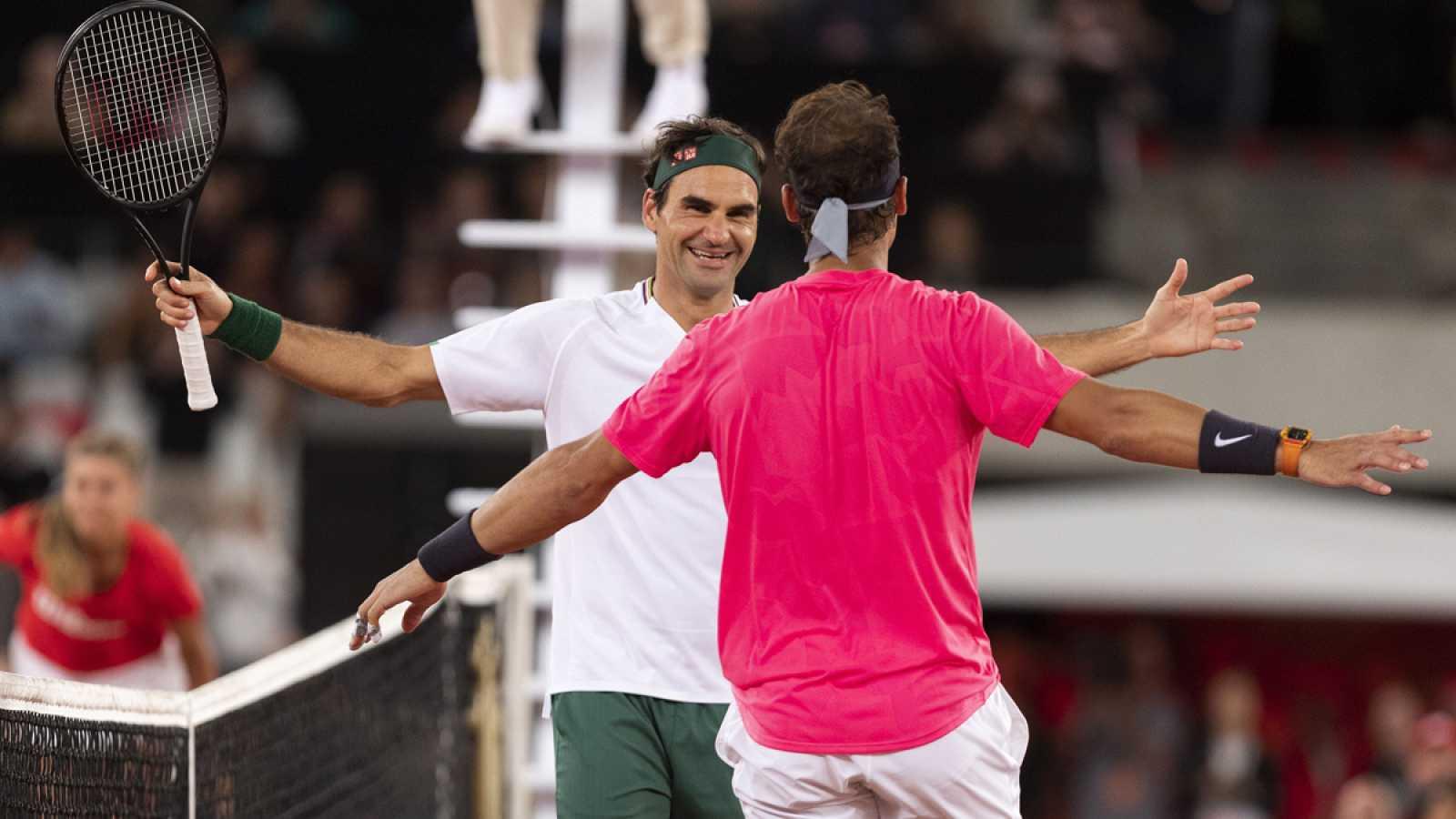Roger Federer v Rafael Nadal Match in Africa