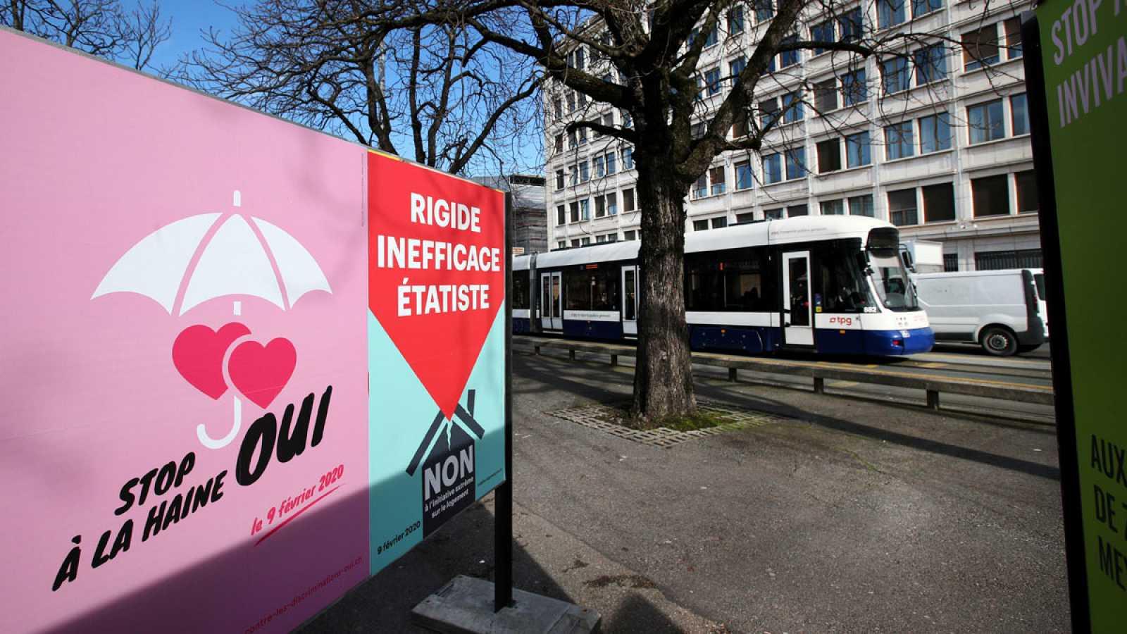 Propaganda electoral antihomofobia en Ginebra