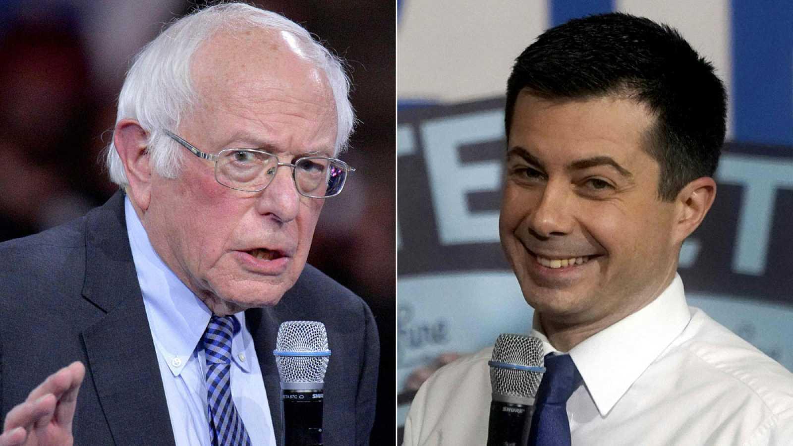 Buttigieg y Sanders, vencedores del 'caucus' de Iowa, piden que se revisen los resultados