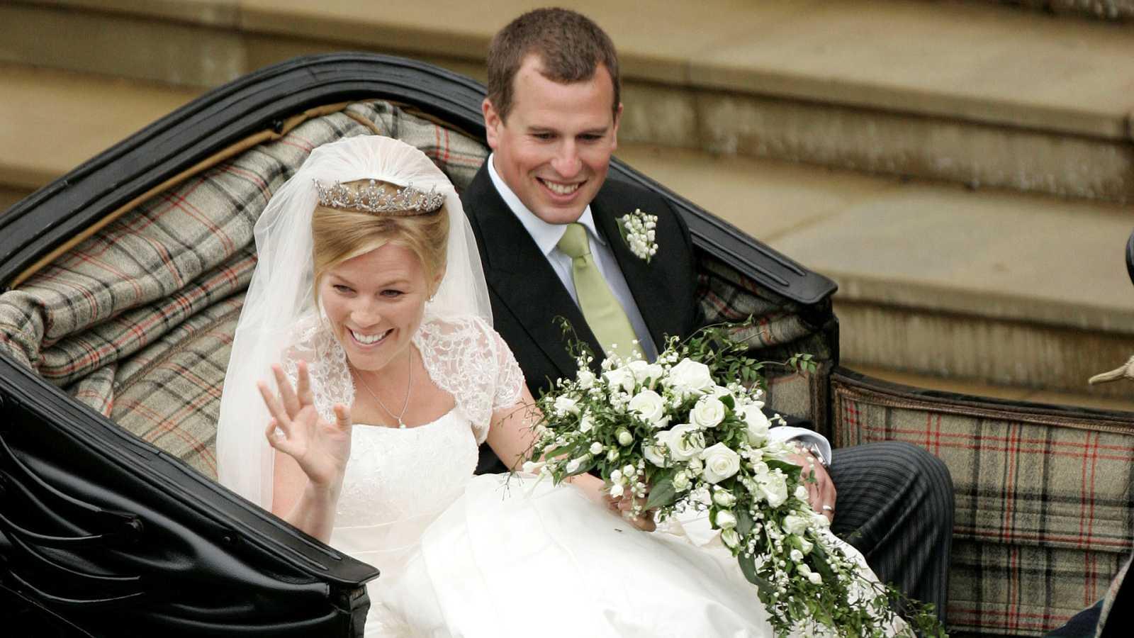 El británico Peter Phillips y la canadiense Autumn Kelly contrajeron matrimonio en el año 2008