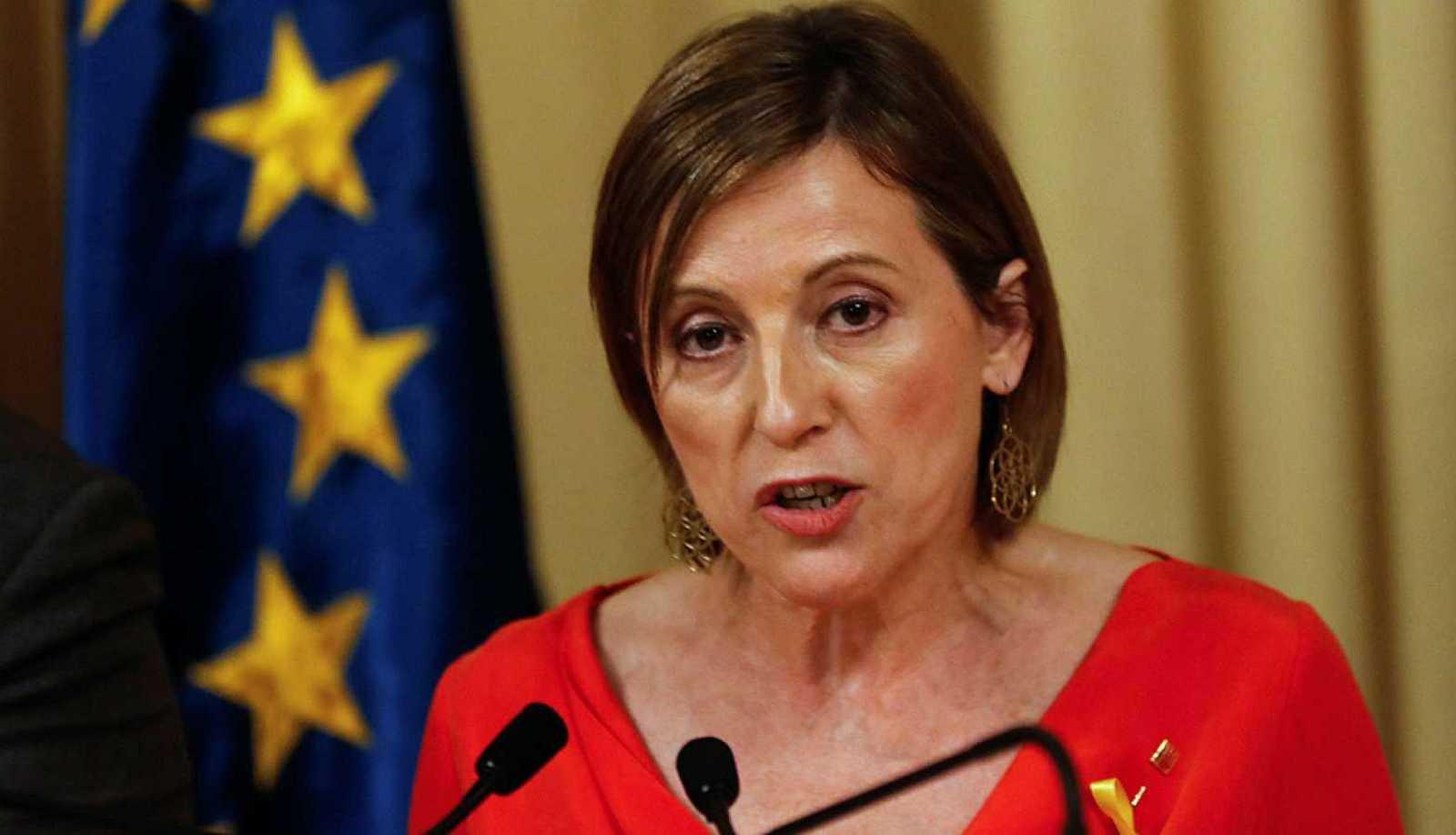 La expresidenta del Parlament de Cataluña Carme Forcadell en una imagen de archivo.