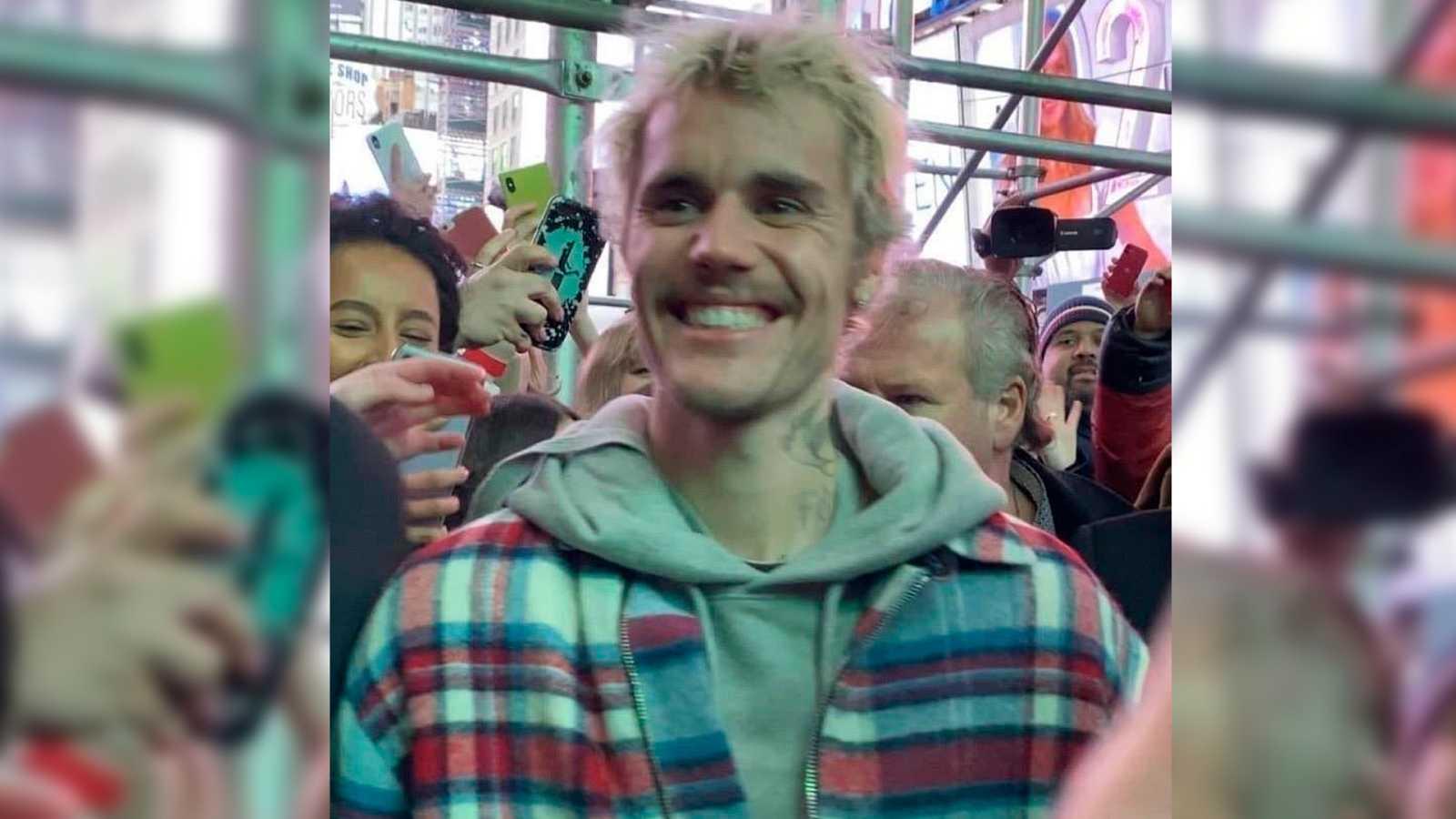 Justin Bieber en una de sus imágenes más recientes