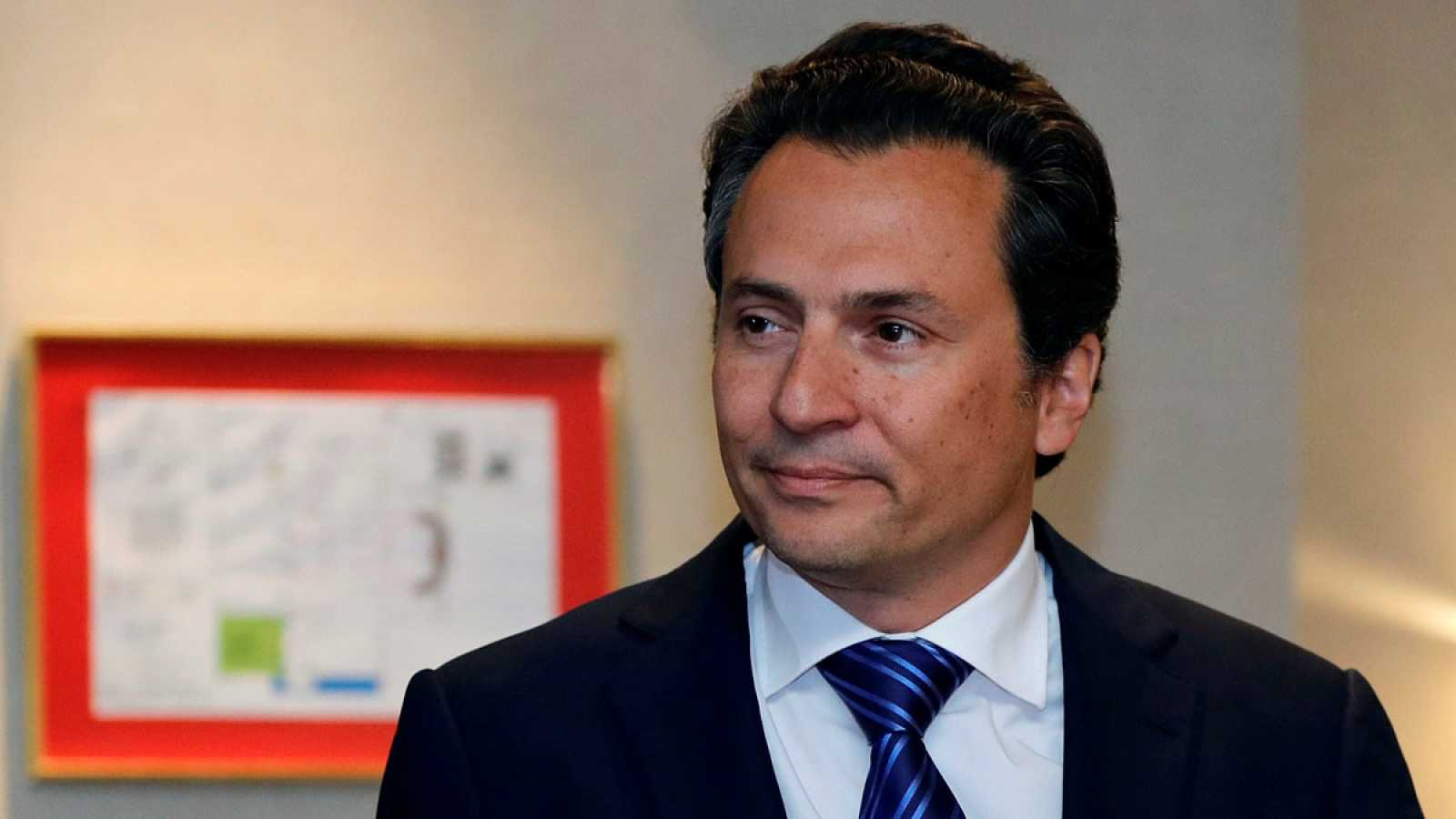 Fotografía de archivo, del 17 de septiembre de 2017, del exdirector de Petróleos Mexicanos (Pemex), Emilio Lozoya en Ciudad de México