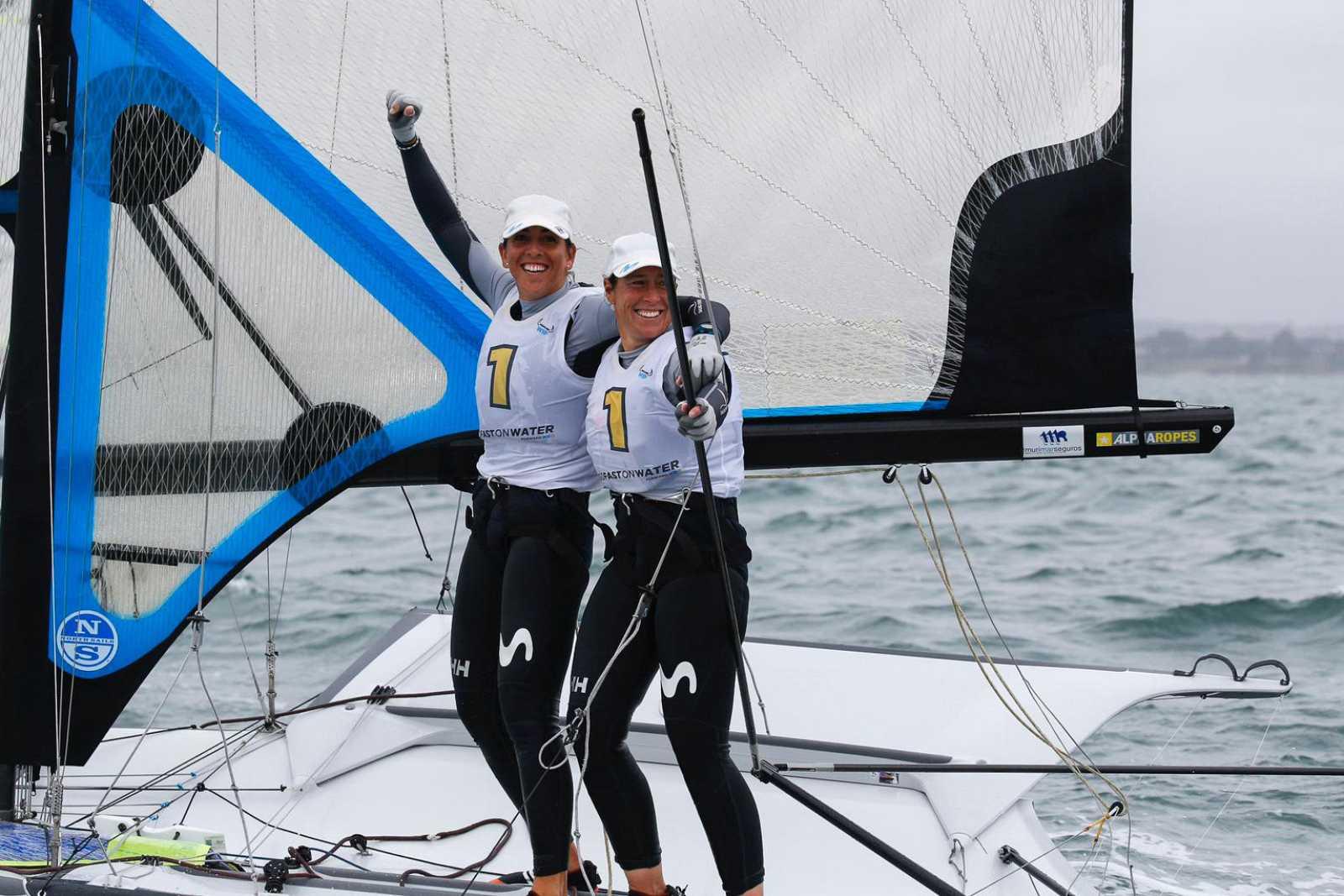 Echegoyen y Barceló celebran su victoria