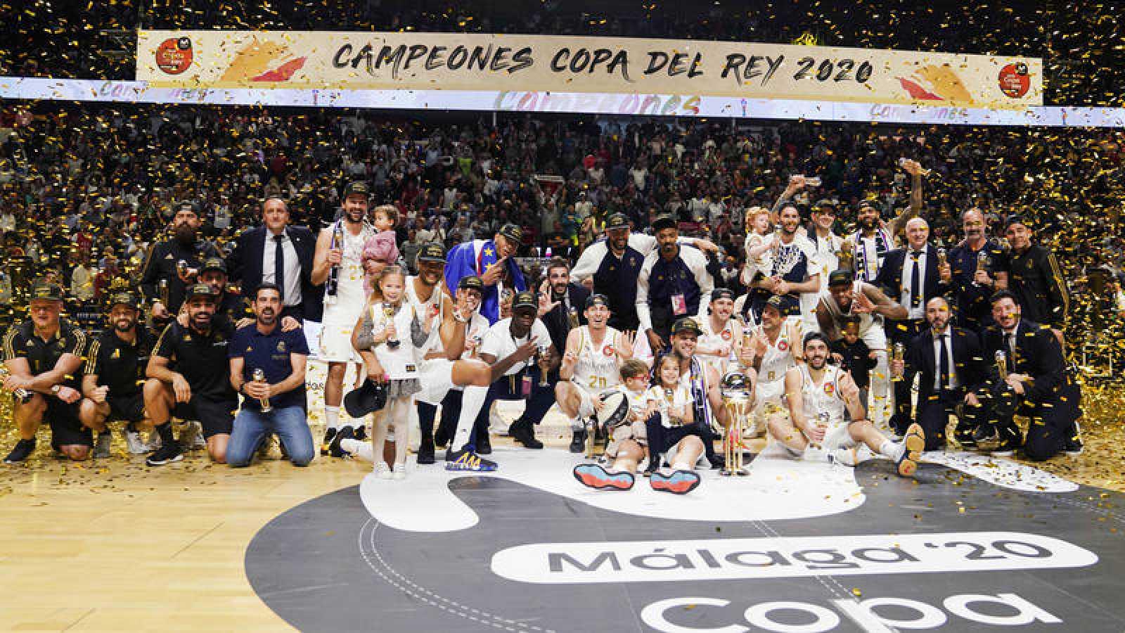 El Real Madrid, campeón de la Copa del Rey 2020.