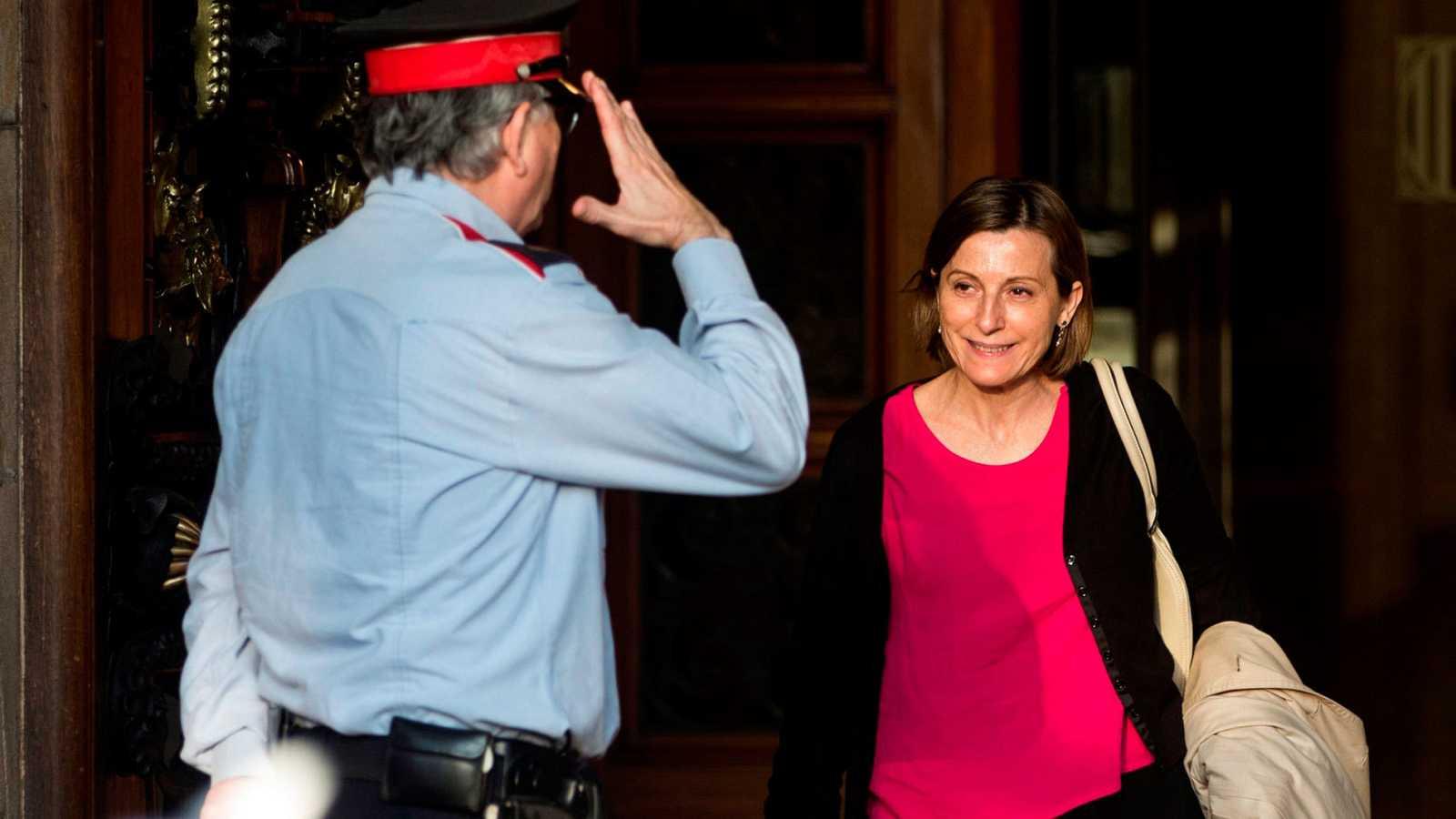 La expresidenta del Parlament, Carme Forcadell, en una imagen de archivo
