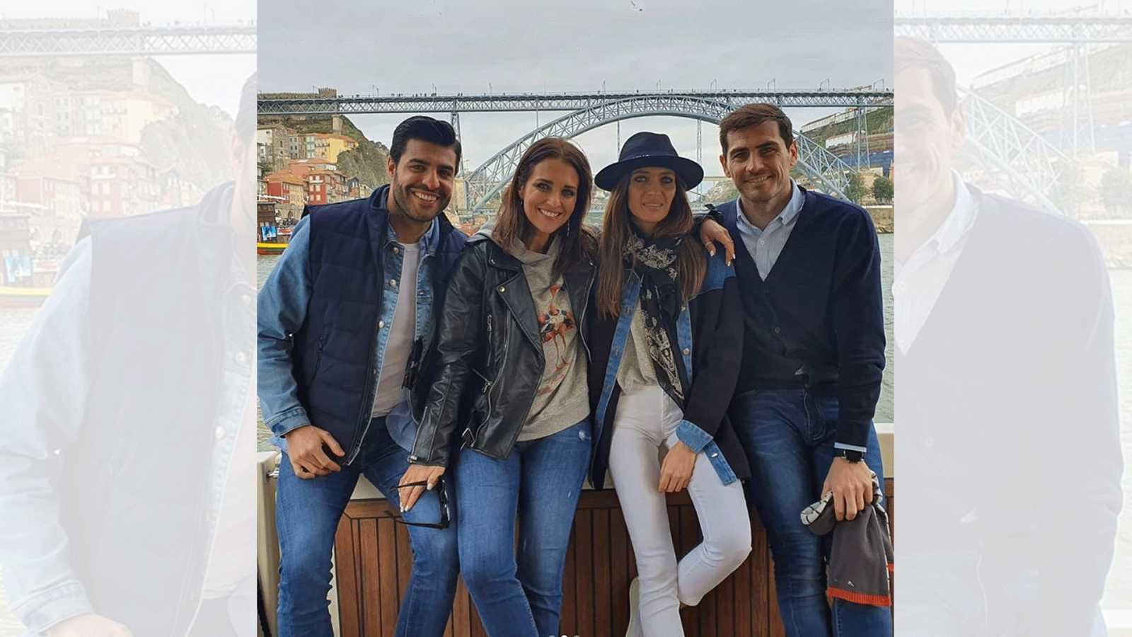 Paula Echevarría, Miguel Torres, Sara Carbonero e Iker Casillas pasan el fin de semana juntos en Oporto
