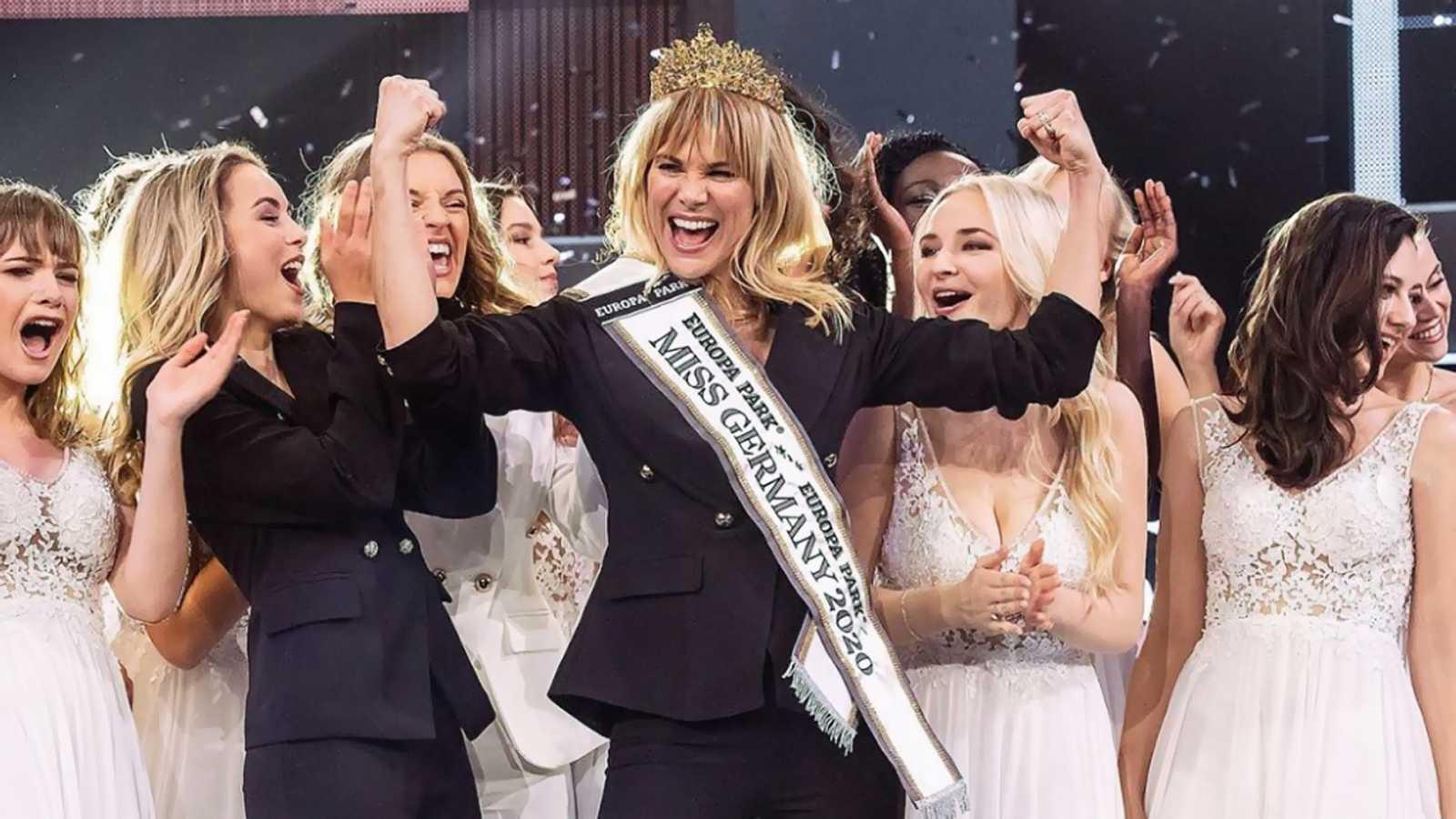 Leonie von Hase, coronada Miss Alemania a los 35 años