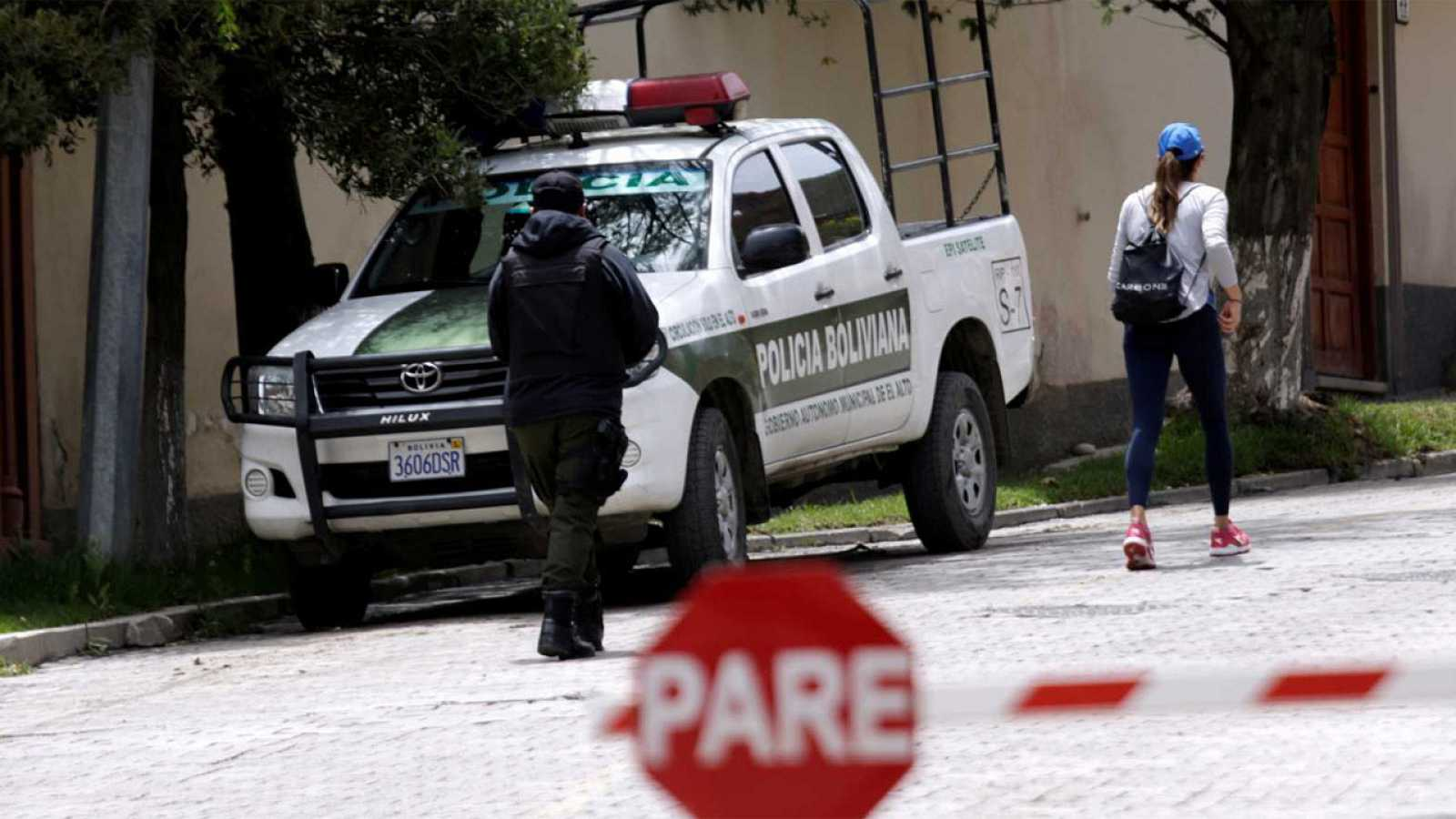 Incidente entre Bolivia y España en la embajada de México