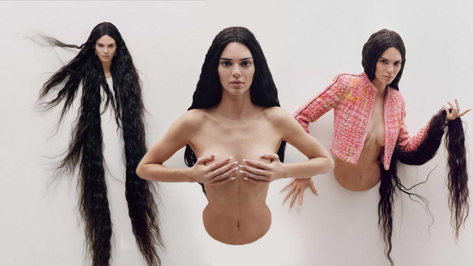 Kendall Jenner para Garage Magazine