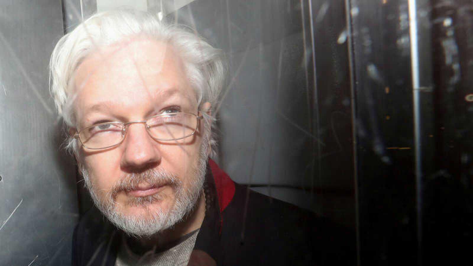 Imagen de archivo de Julian Assange