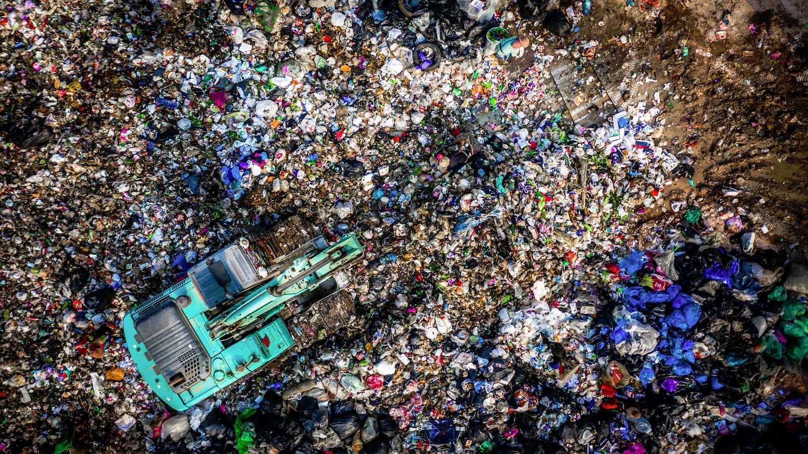 La economía española generó 132 millones de toneladas de residuos en 2017, el último año del que se tienen datos.