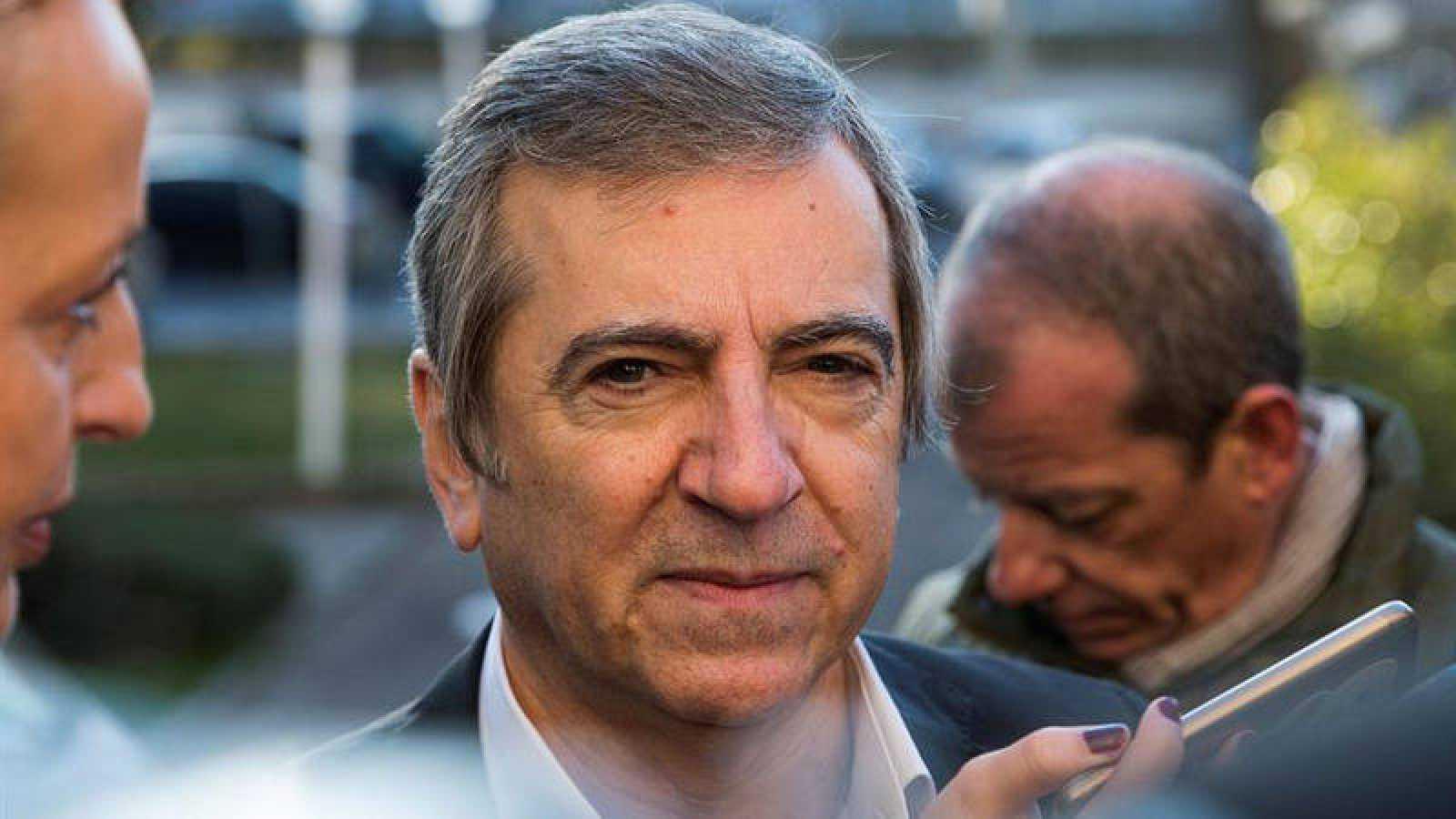 El exjefe de la Policía Local de Coslada a su llegada a la Audiencia Provincial de Madrid en 2018