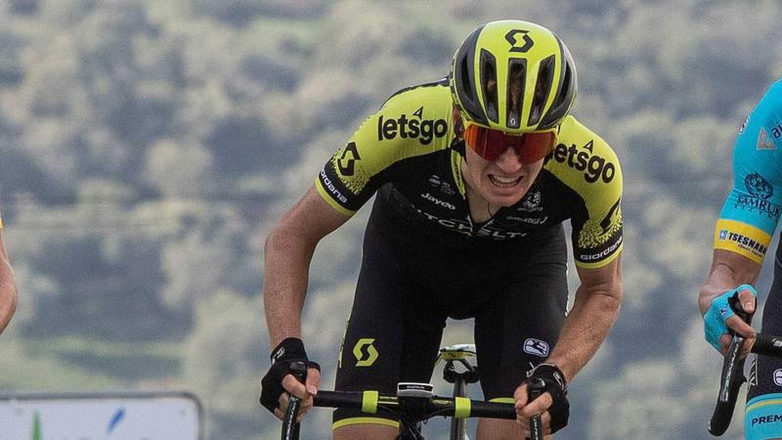 El ciclista australiano Jack Haig durante la Vuelta a Andalucía.