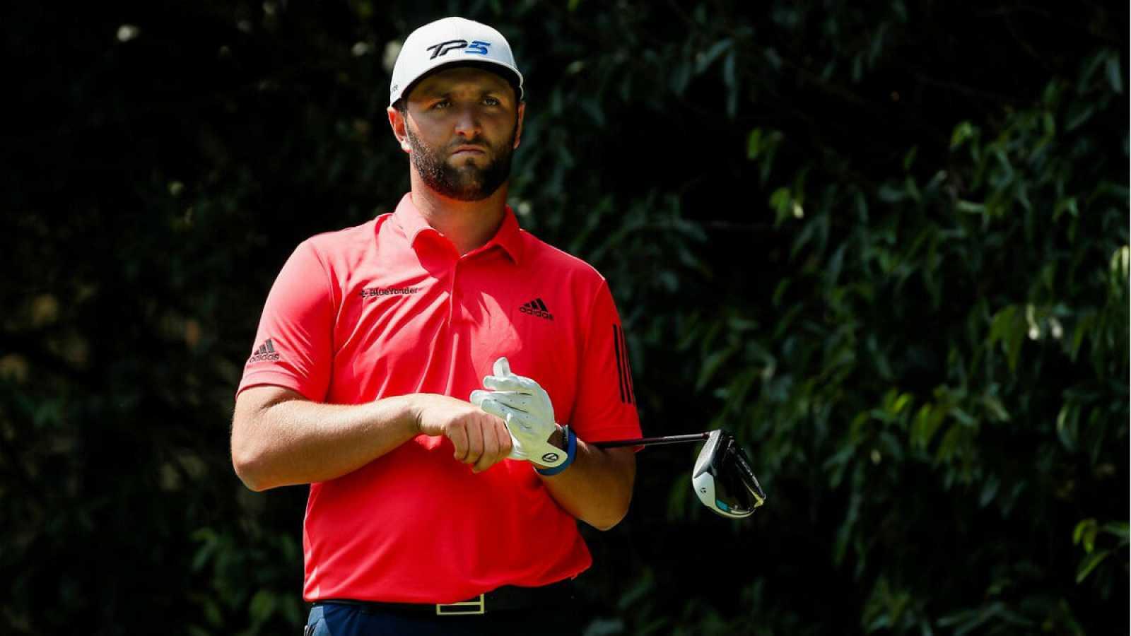 El español Jon Rahm, durante su participación en la última ronda del World Tour Championship de la PGA que se realiza en el Club de Golf Chapultepec de la Ciudad de México (México).