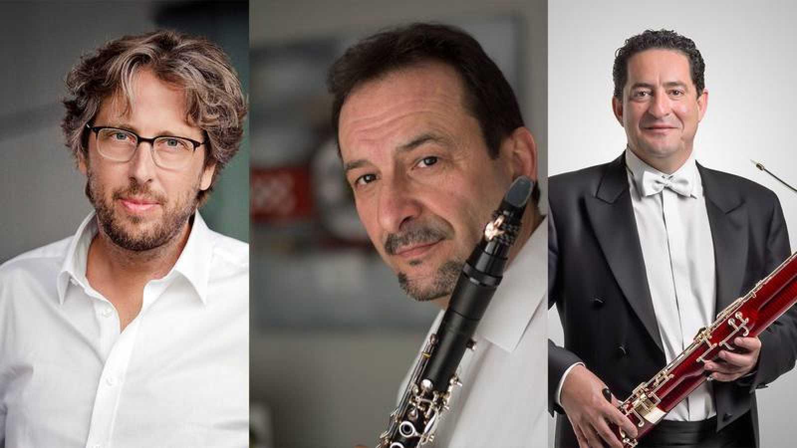 Michal Nesterowicz, Miguel Espejo y Miguel Barona