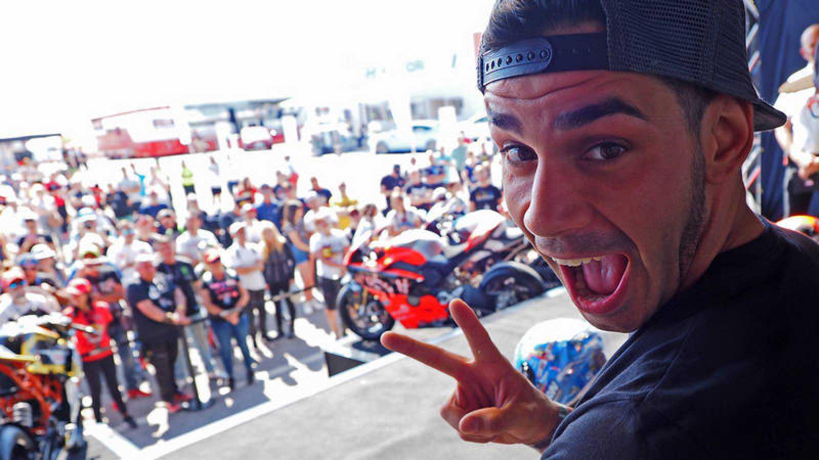 El piloto español Jordi Torres.