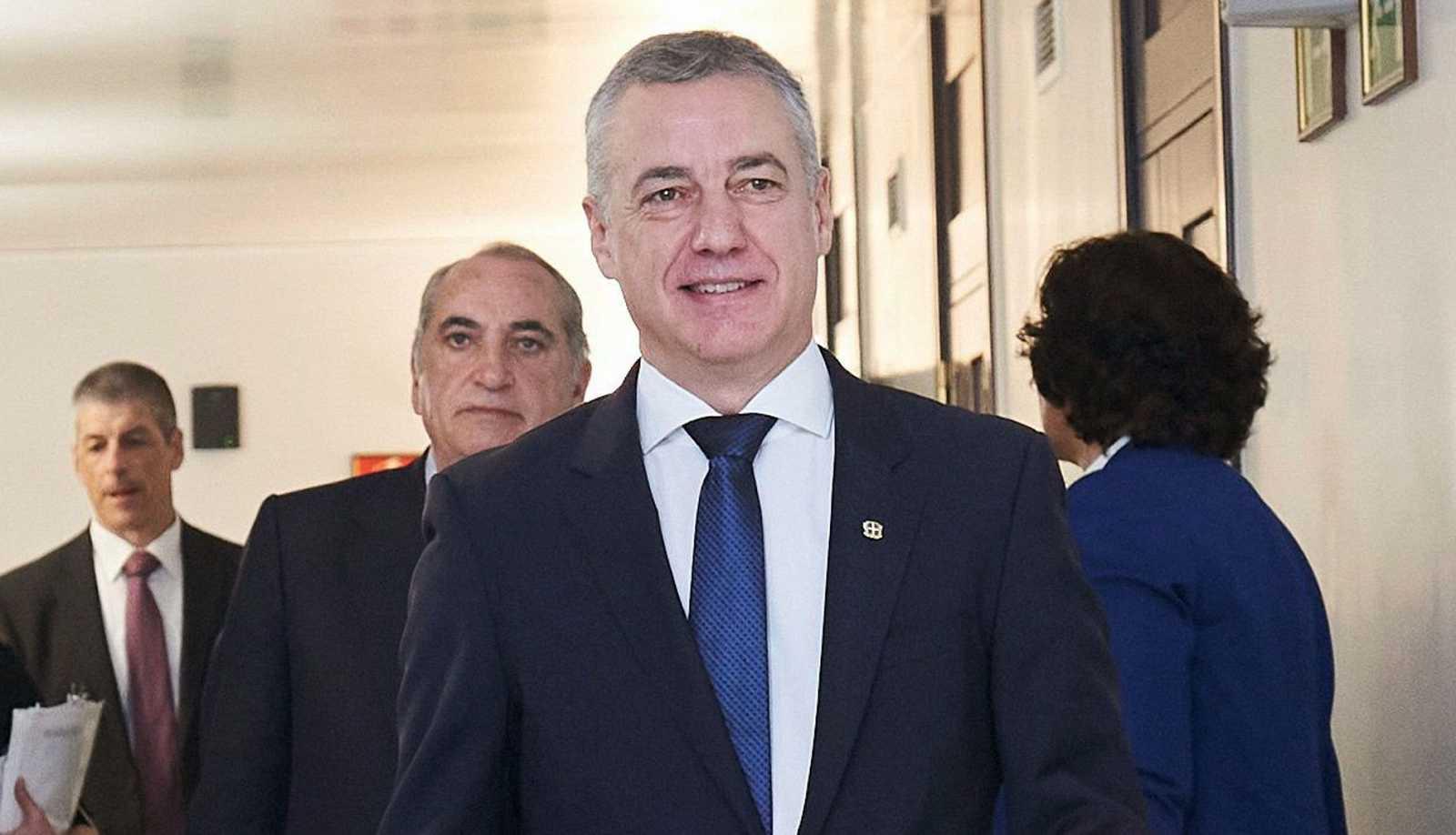 El lehendakari vasco y candidato a la reelección por el PNV, Iñigo Urkullu, en una imagen de archivo.