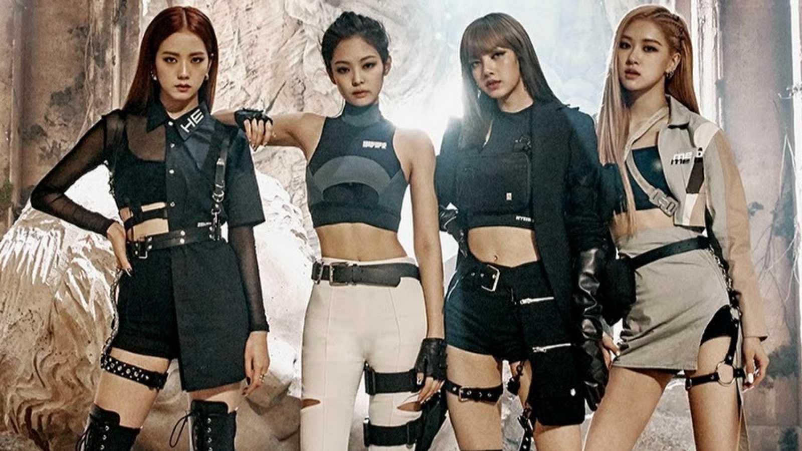 De izquierda a derecha: Jennie Jisoo, Lisa y Rosé forman BLACKPINK