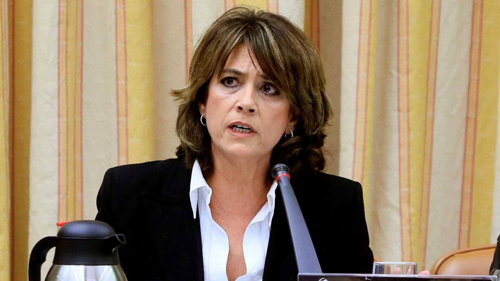 La exministra de Justicia Dolores Delgado
