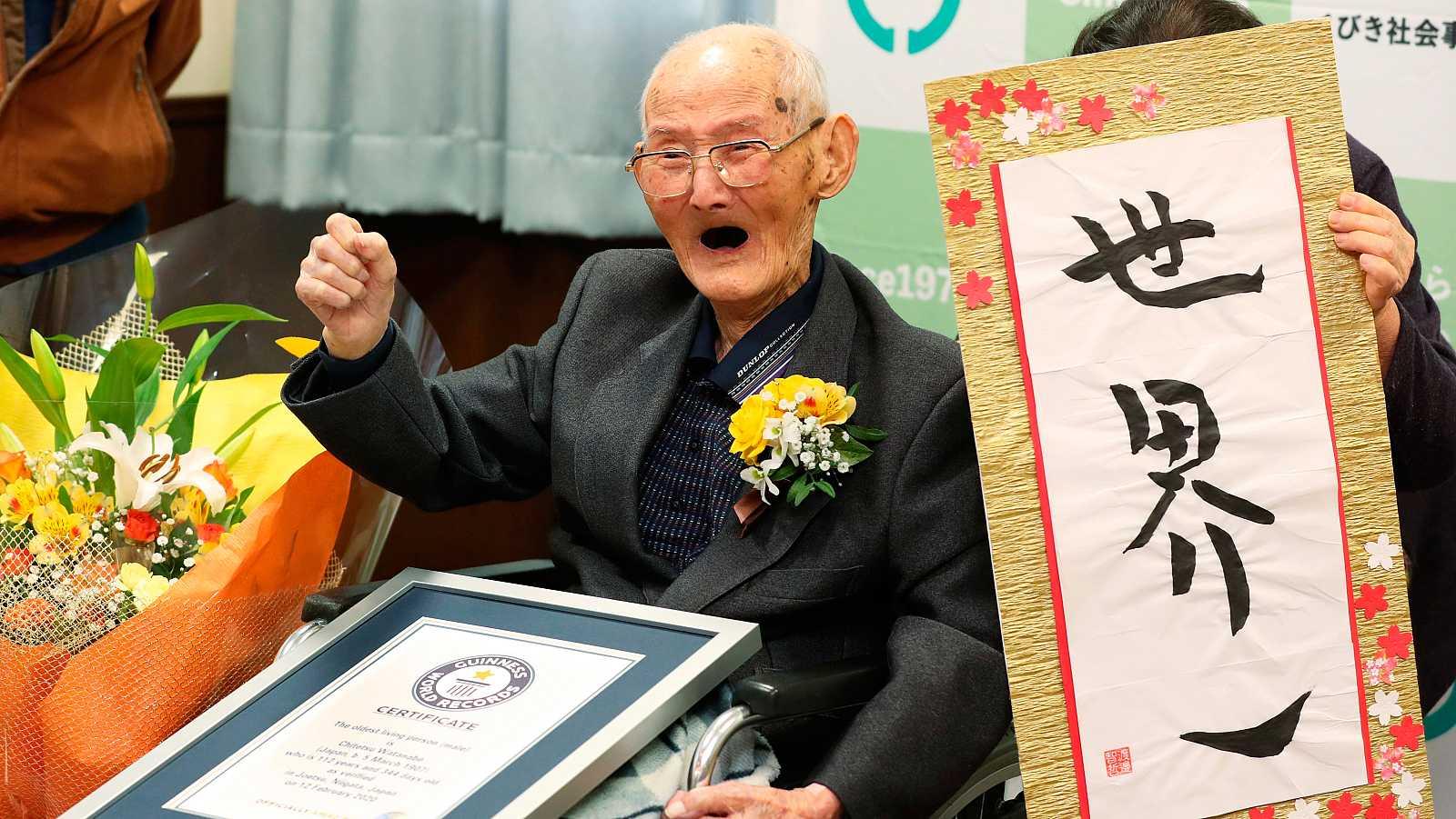 Muere el hombre más anciano del mundo 11 días después de recibir el Guinness World Record