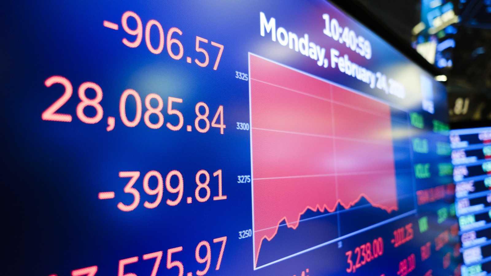 La bolsa pierde un 2,45 % y registra su segunda mayor caída del año