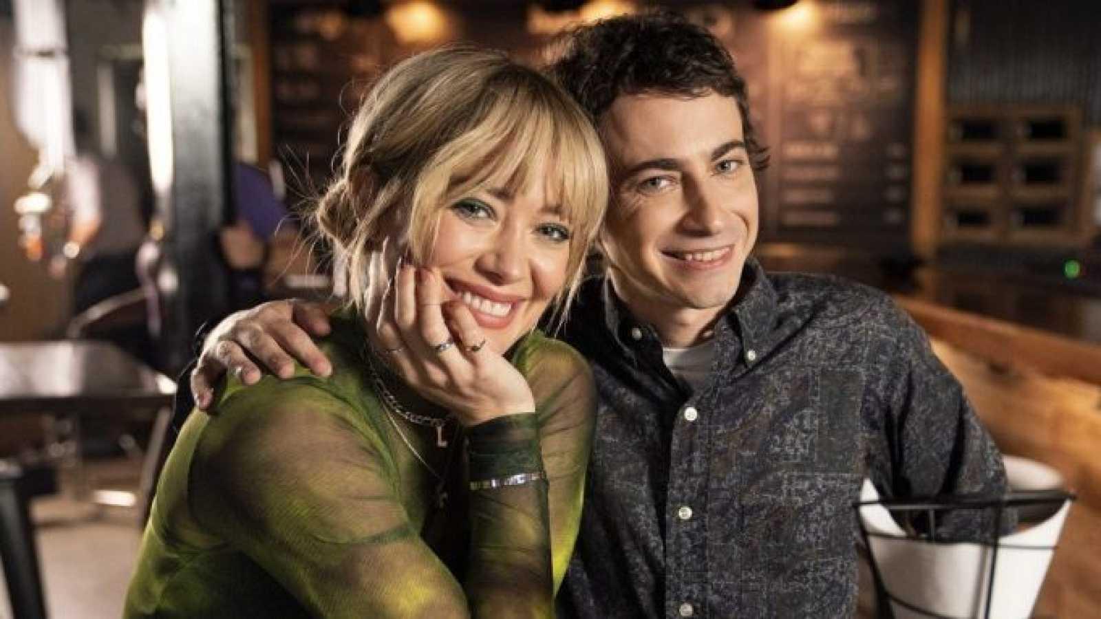 Hilary Duff and Adam Lamberg de 'Lizzie McGuire'