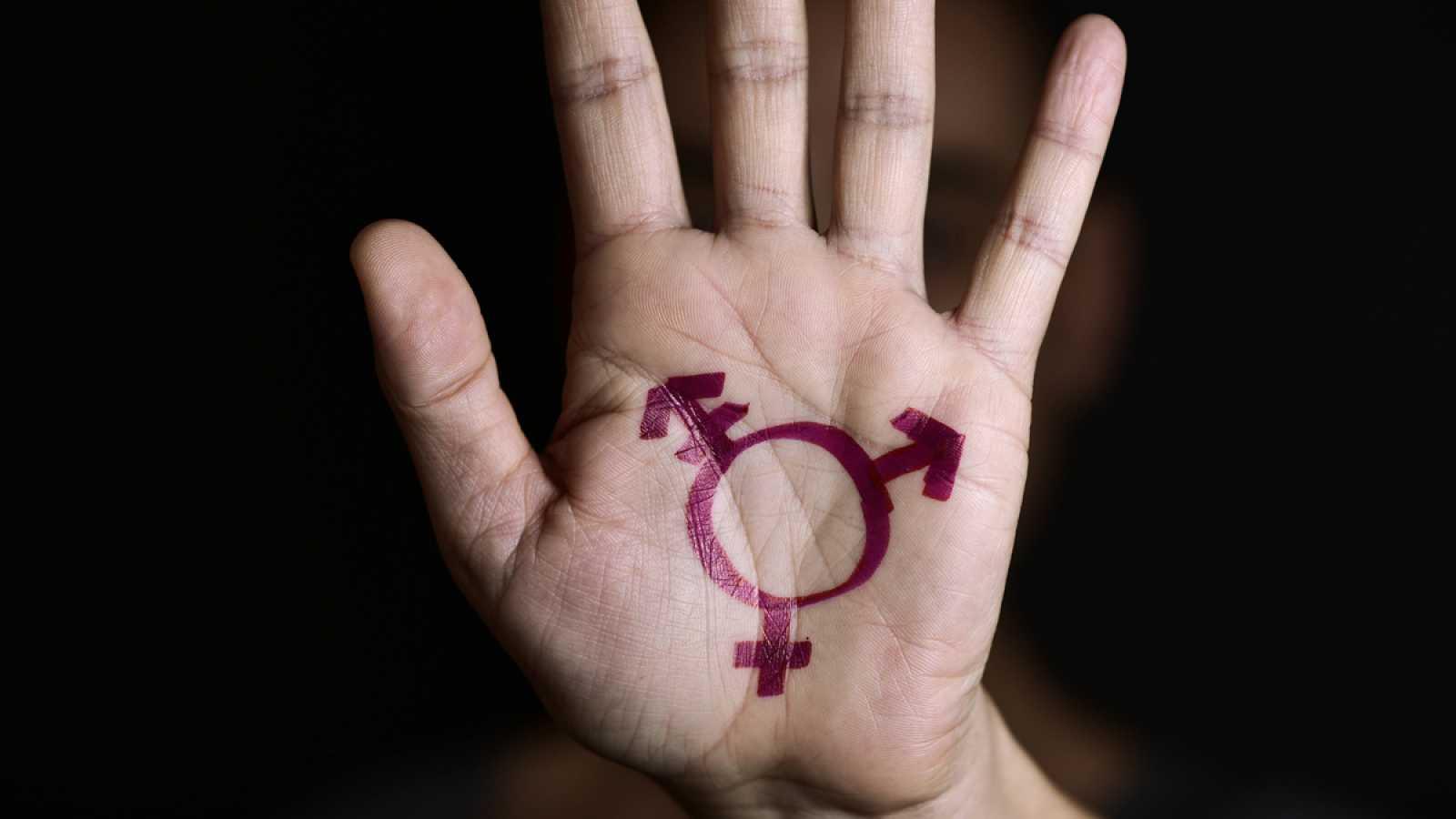 Imagen del símbolo de transexual