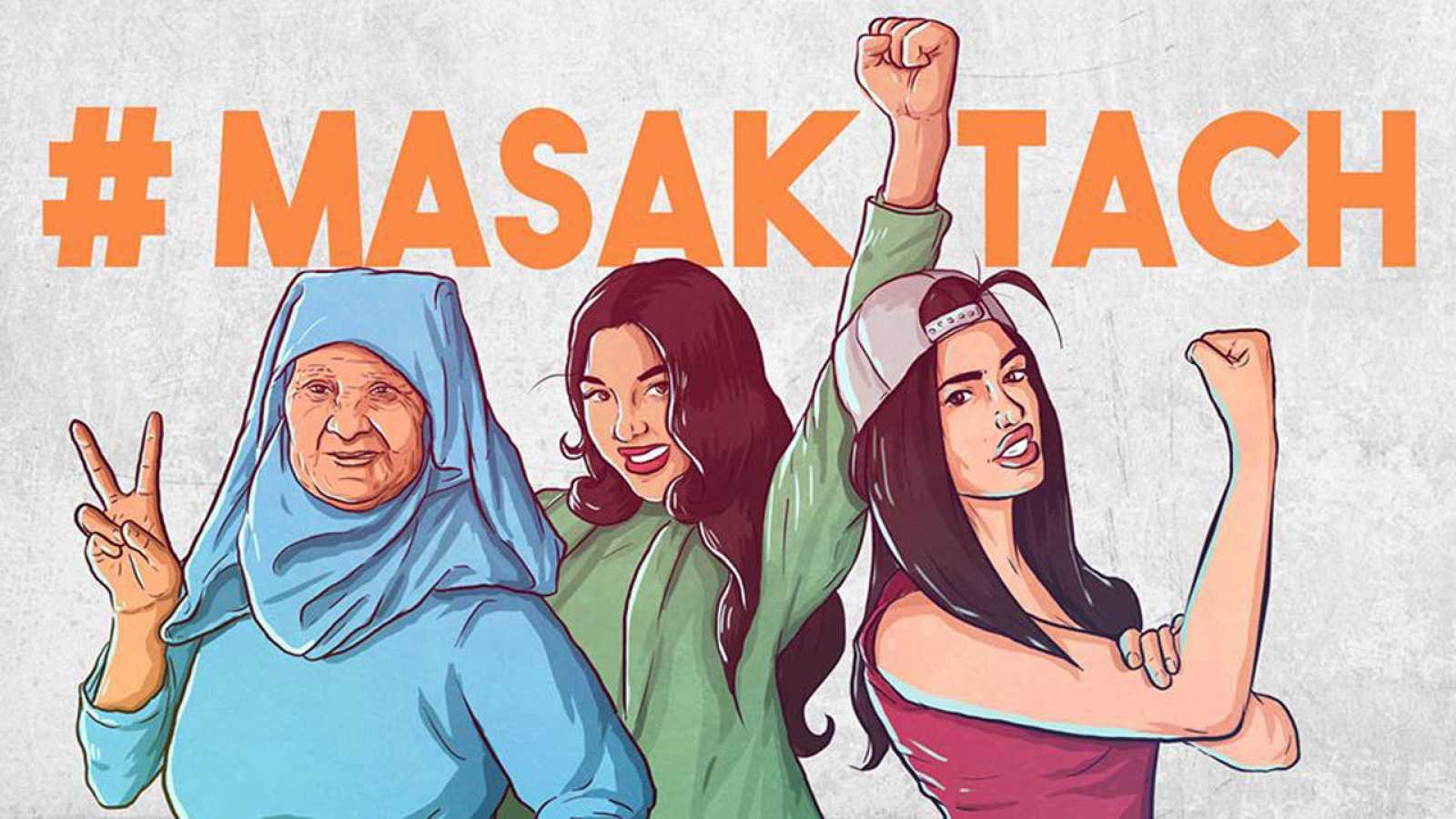 """El movimiento #MASAKTACH (""""Yo no me callo"""") ha lanzado una campaña en Facebook y en Twitter para que las mujeres se atrevan a contar su historia bajo el anonimato."""