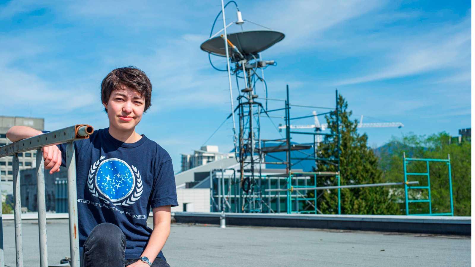 Michelle Kunimoto, la joven que descubrió 16 planetas