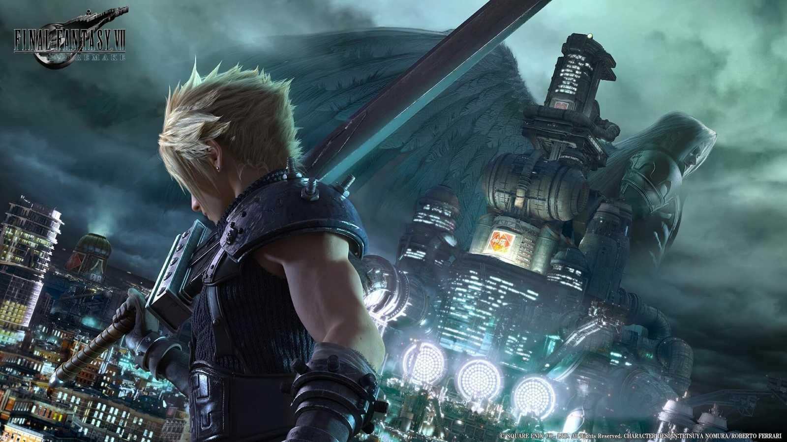 Cloud es el protagonista del videojuego 'Final Fantasy VII Remake'