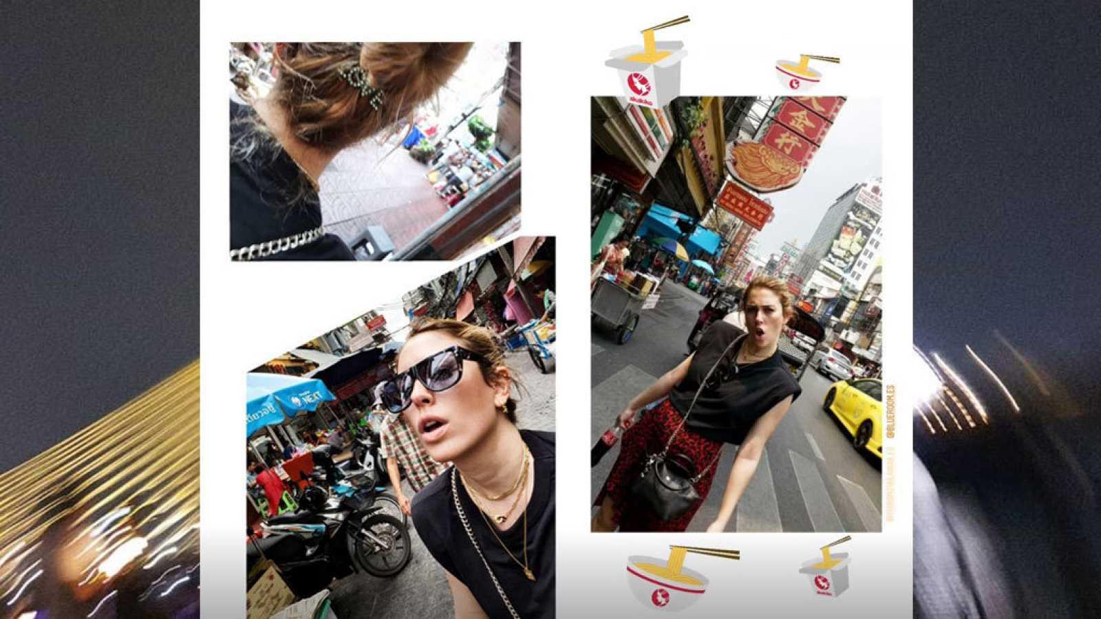 Imágenes de Blanca Suárez en Bangkok