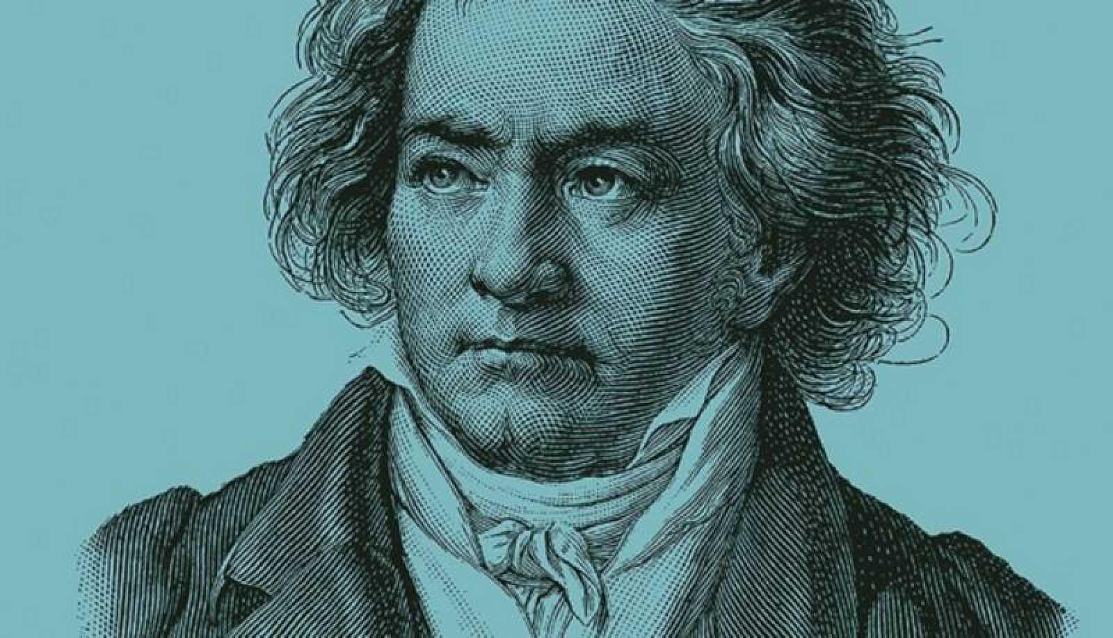 Retrato de Ludwig van Beethoven