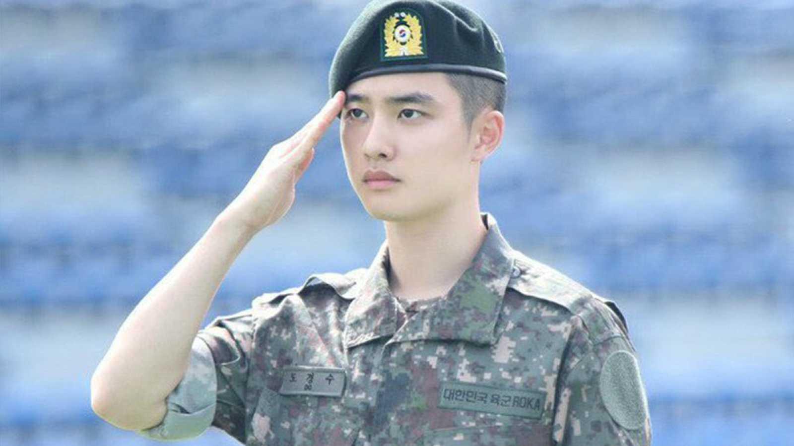 D.O de EXO recibe su puesto oficial en el servicio militar